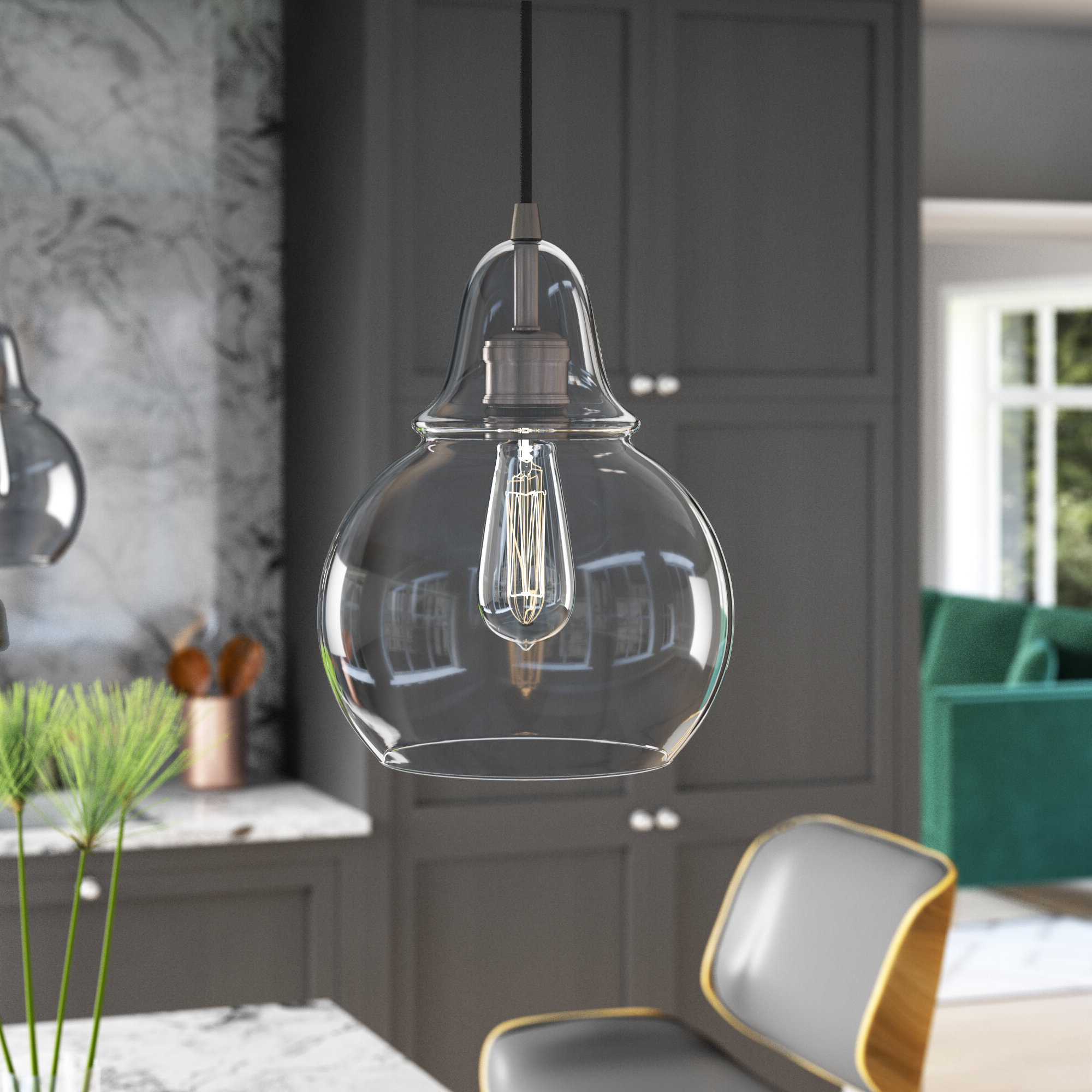 2019 Conard 1 Light Single Teardrop Pendant Inside Conard 1 Light Single Teardrop Pendants (View 1 of 25)