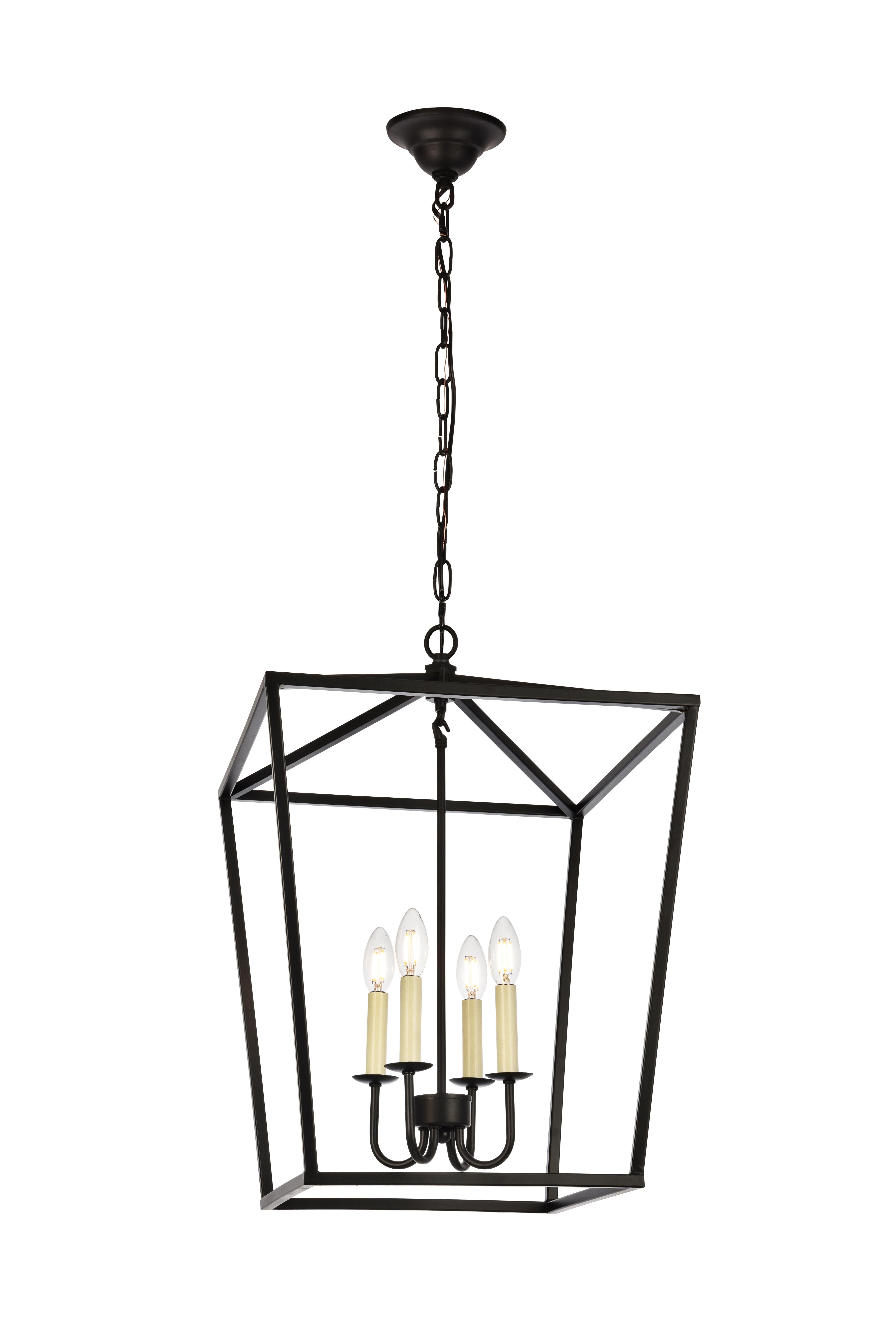 2019 Daphne 4 Light Foyer Pendant Regarding Varnum 4 Light Lantern Pendants (View 2 of 25)