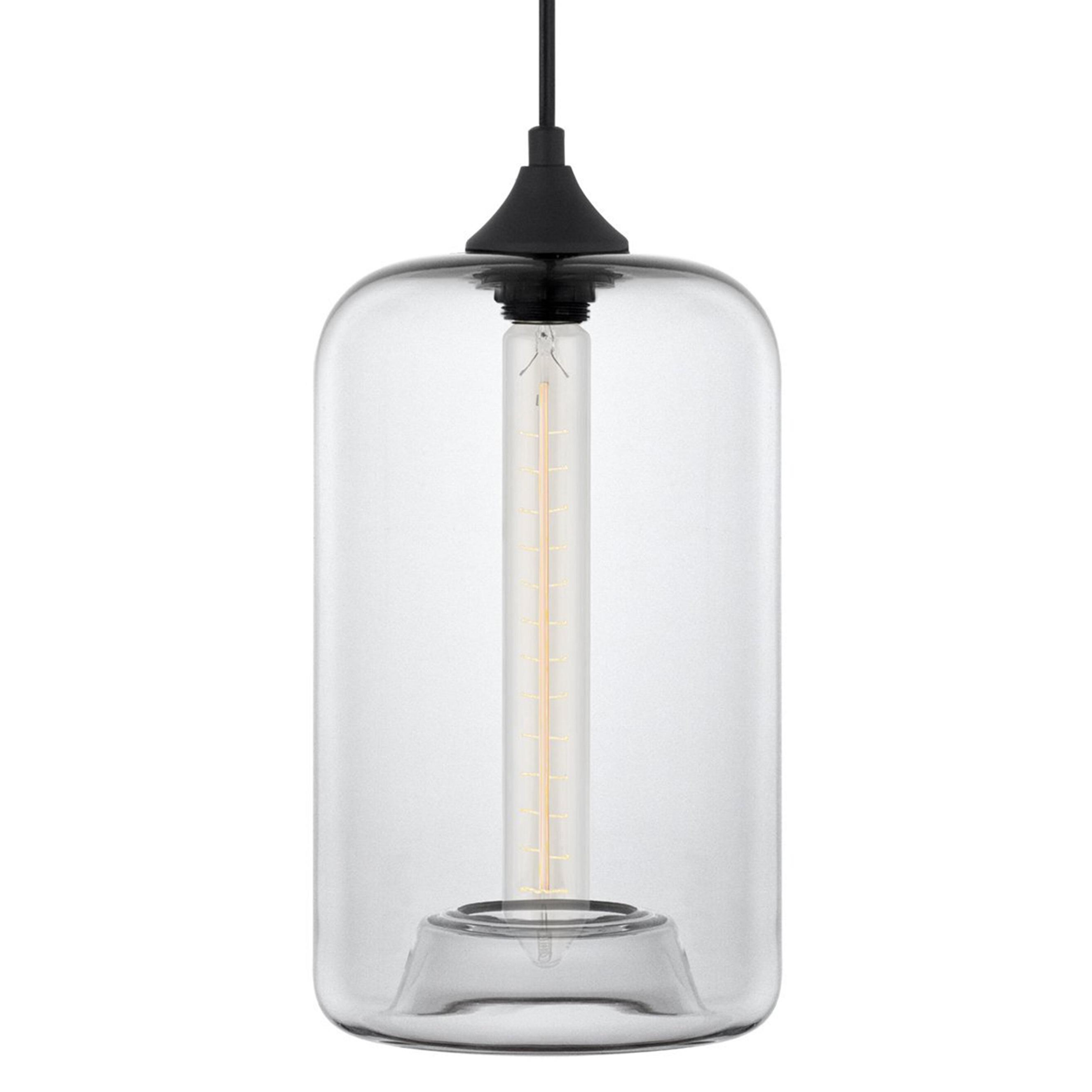 2019 Derek 1 Light Cylinder Pendant In Scruggs 1 Light Geometric Pendants (View 2 of 25)