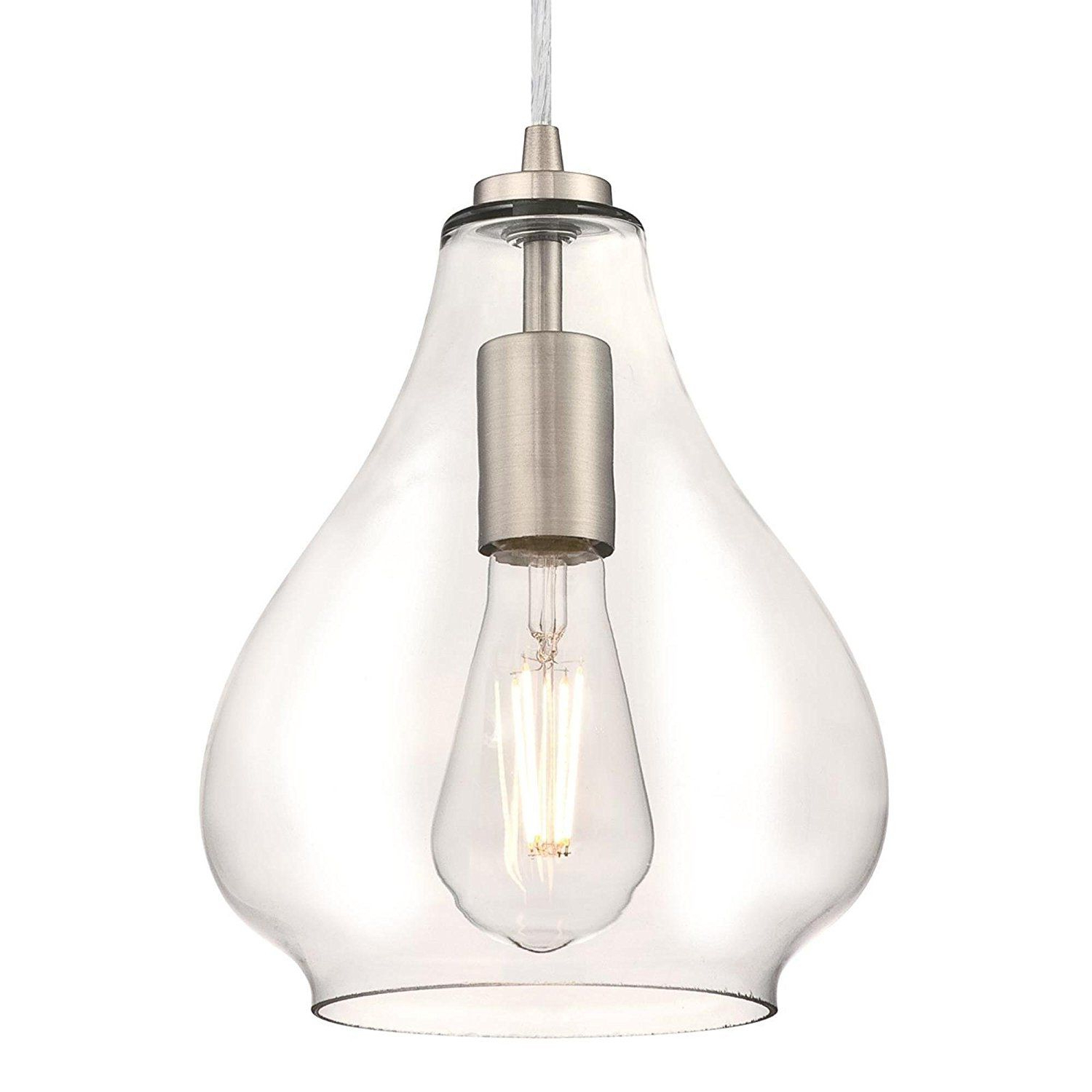 2019 Moyer 1-Light Single Cylinder Pendants throughout Westinghouse 6102600 Industrial One-Light Adjustable Mini