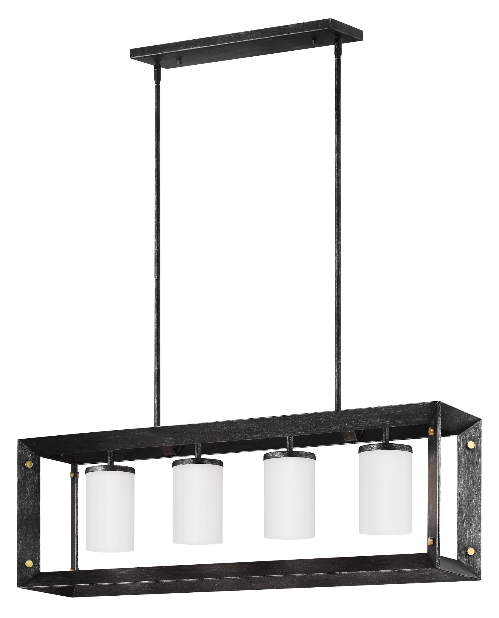 2019 Odie 8 Light Kitchen Island Square / Rectangle Pendants In Neston 4 Light Kitchen Island Pendant (View 1 of 25)