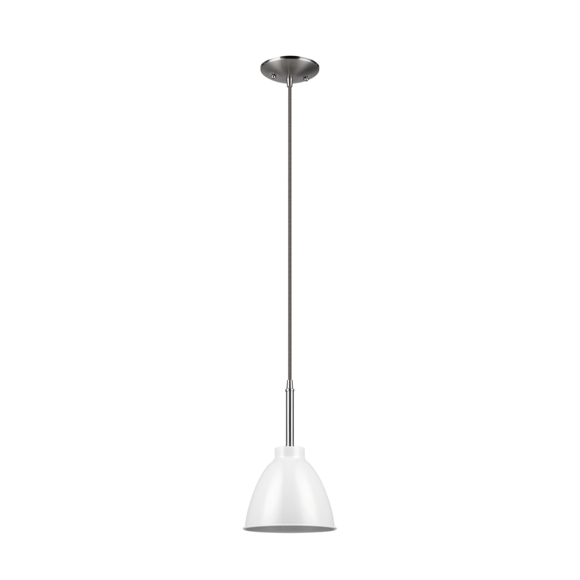2020 1-Light Single Bell Pendants regarding Velda 1-Light Single Bell Pendant