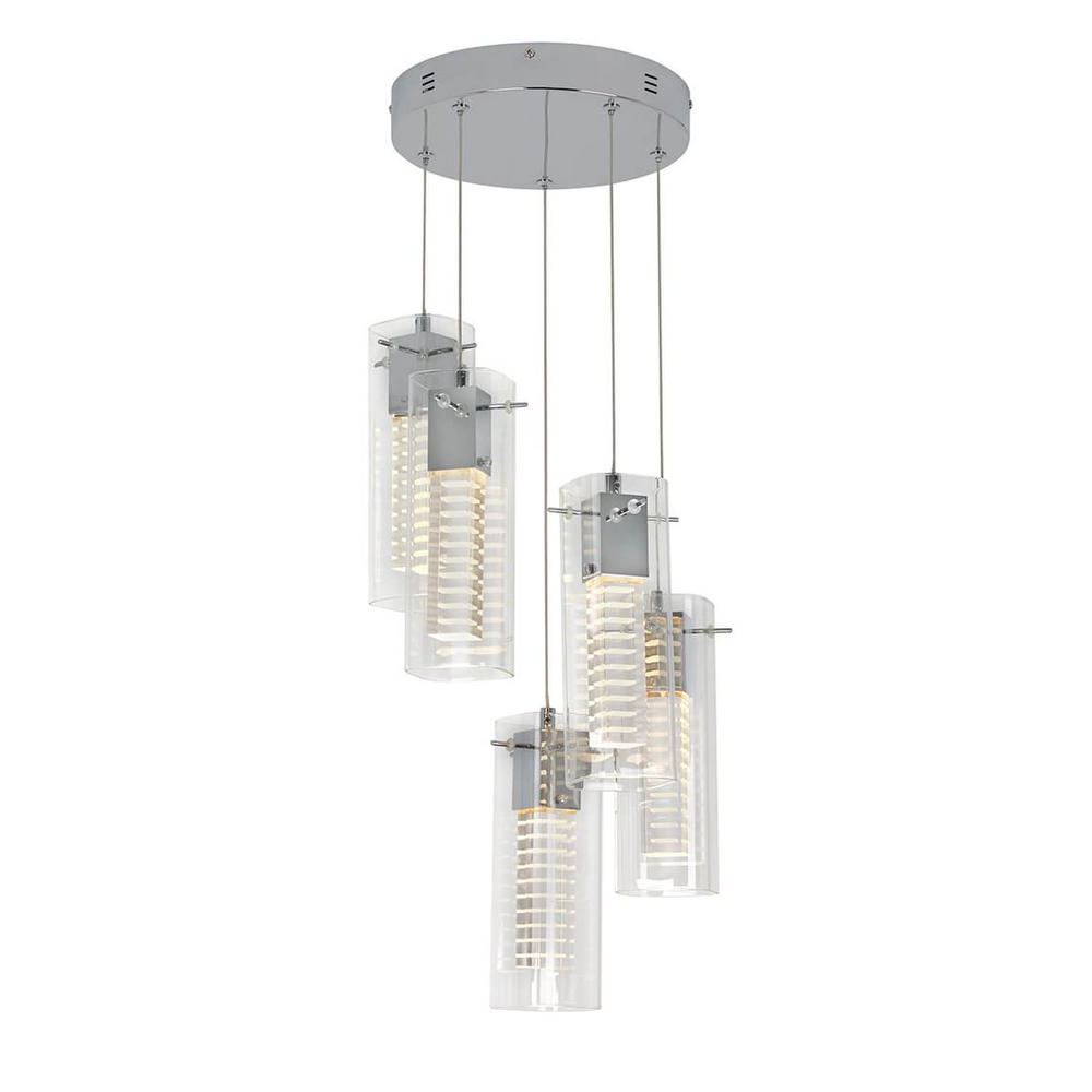 2020 Dirksen 3 Light Single Cylinder Chandeliers For Pendant Lights – Lighting – The Home Depot (View 18 of 25)
