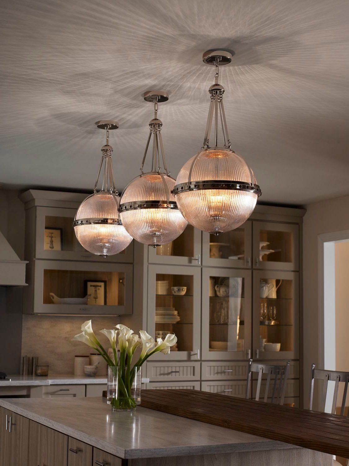 2020 La Barge 3-Light Globe Chandeliers inside Redefine The Style Of Your Room With Distinctive Orb Shaped