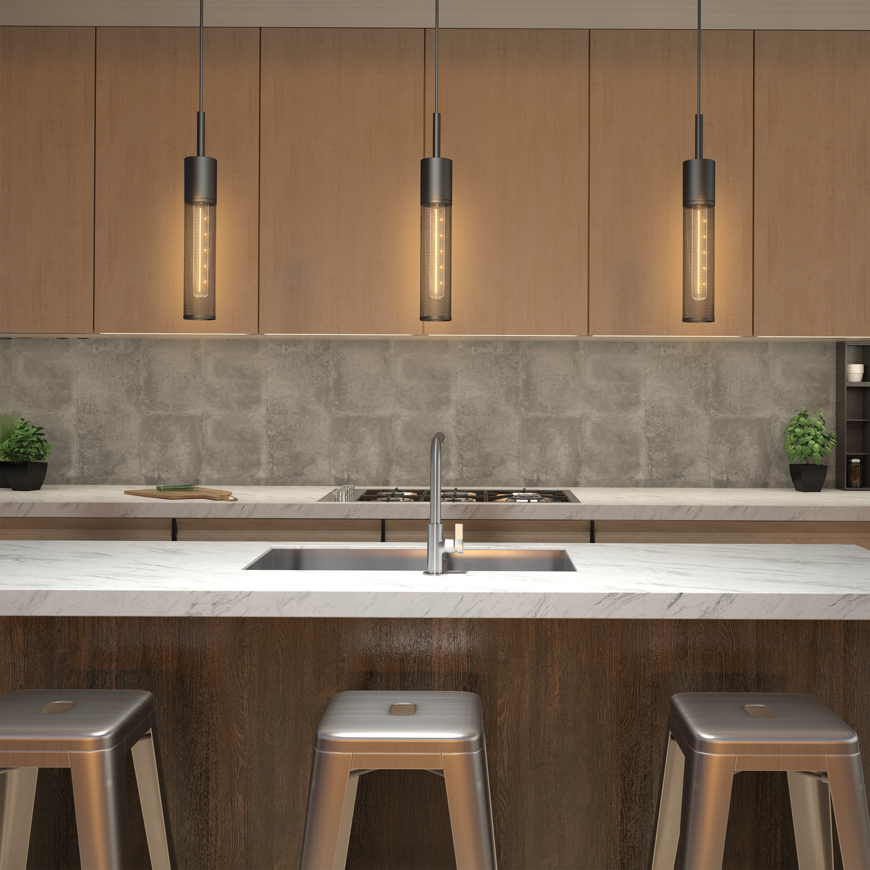 2020 Schutt 4 Light Kitchen Island Pendants For Schutt 1 Light Cylinder Pendant (View 11 of 25)