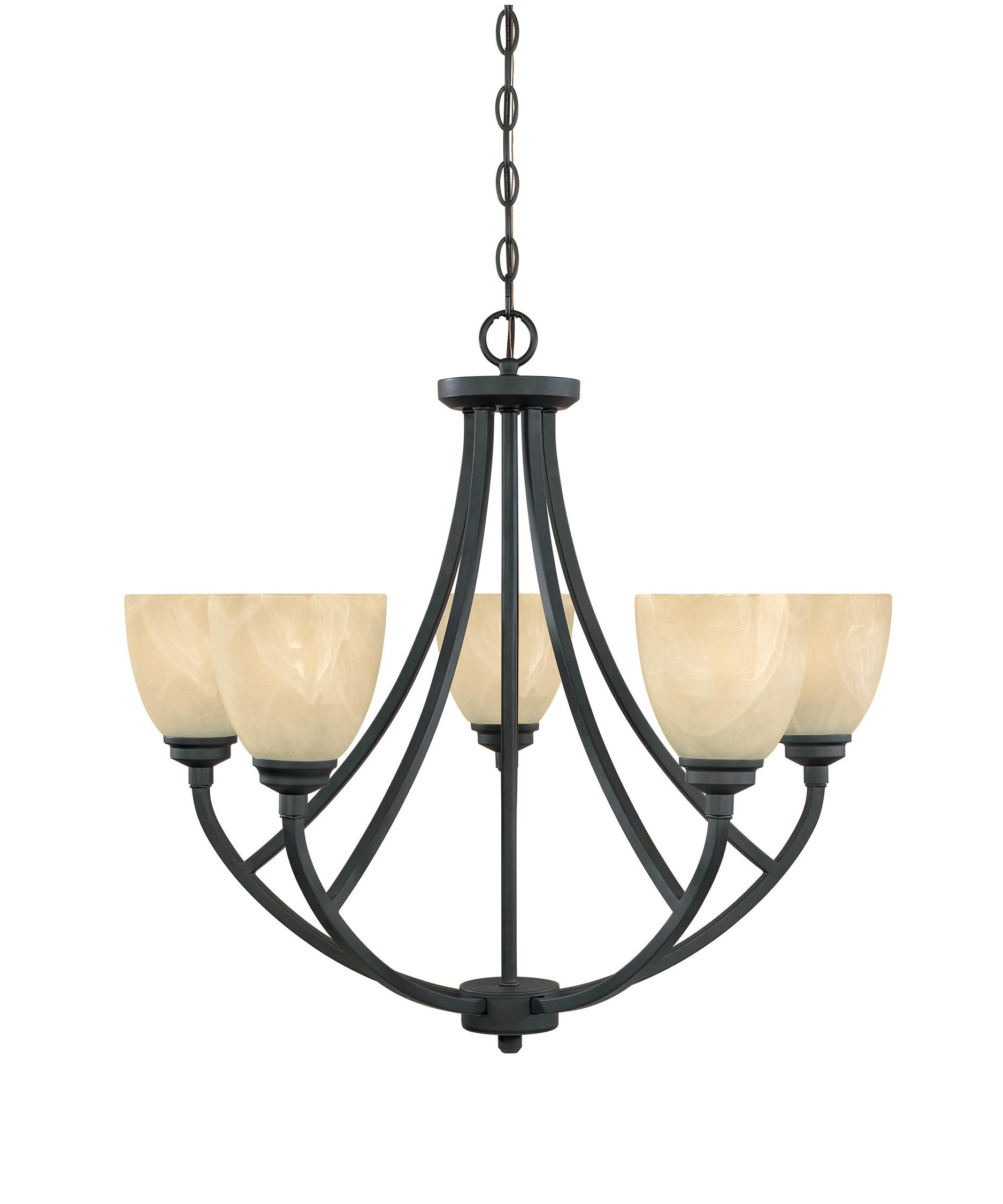 2020 Tackwood 27 Inch 5 Light Chandelierdesigners Fountain Within Suki 5 Light Shaded Chandeliers (View 6 of 25)