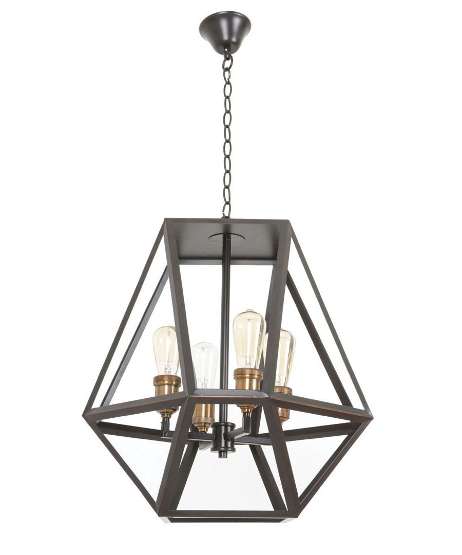 2020 Vaille 4 Light Pendant In Oil Rubbed Bronze Within Donna 4 Light Globe Chandeliers (View 5 of 25)