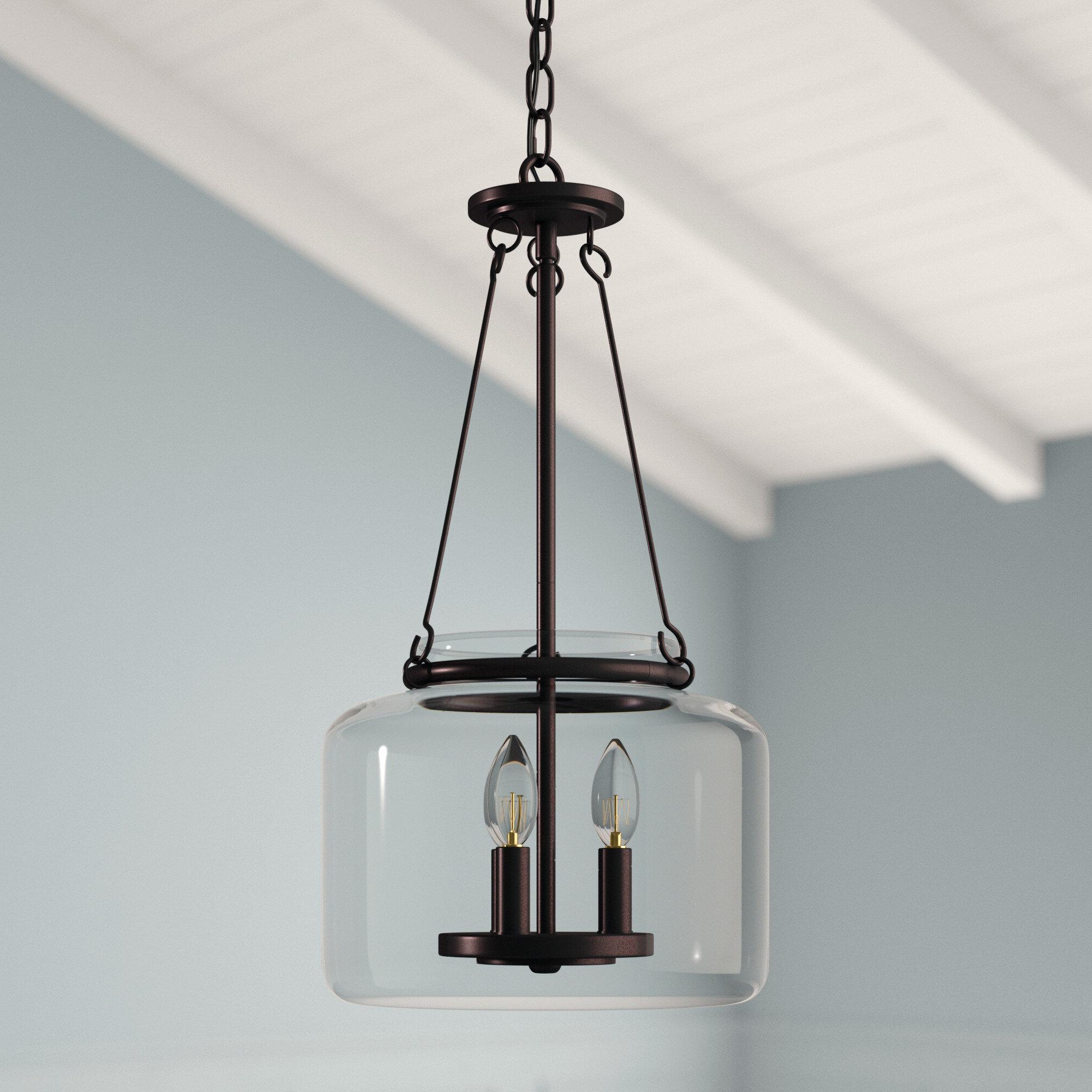 3-Light Single Urn Pendants throughout Most Popular Jean-Baptiste 3-Light Lantern Jar Pendant
