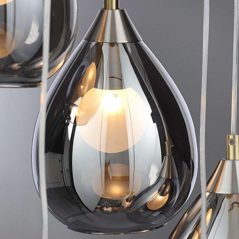 5A Fifth Avenue Sintra Smoke Glass Fitting