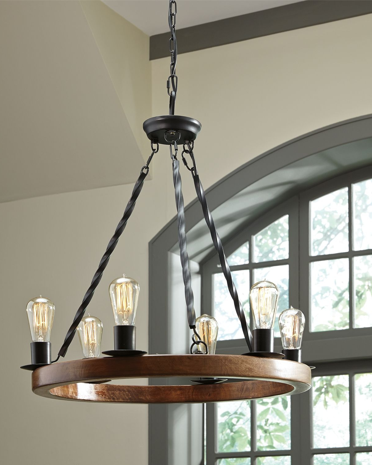 Aadhya 5 Light Drum Chandeliers For Well Liked Plato Pendant Light, Brown/black (View 6 of 25)