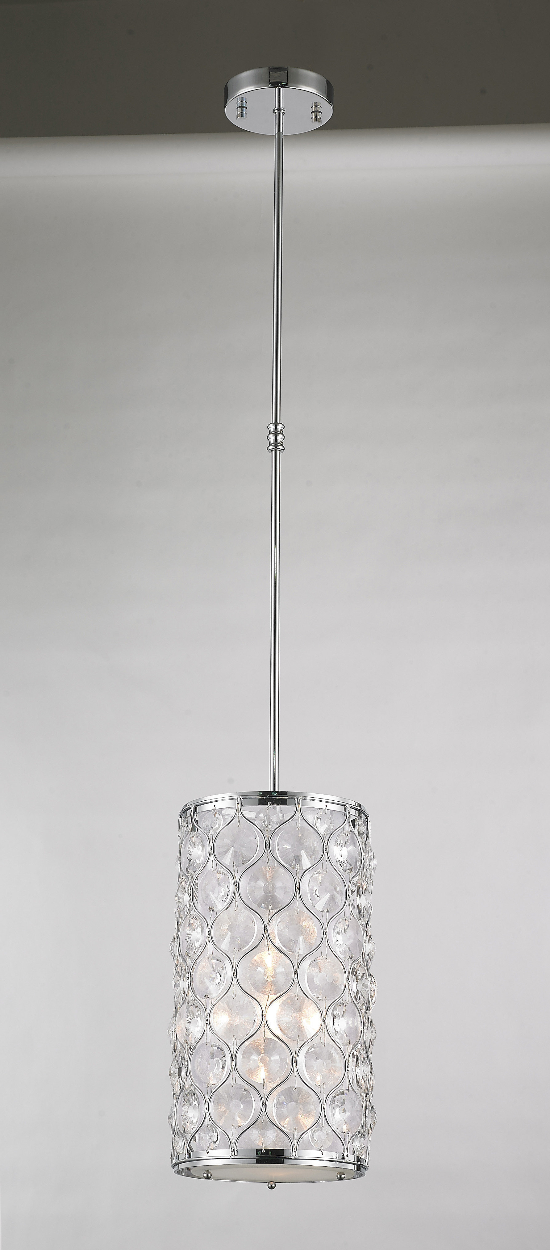 Adonis 1 Light Single Cylinder Pendant With Regard To Newest Hurst 1 Light Single Cylinder Pendants (View 3 of 25)