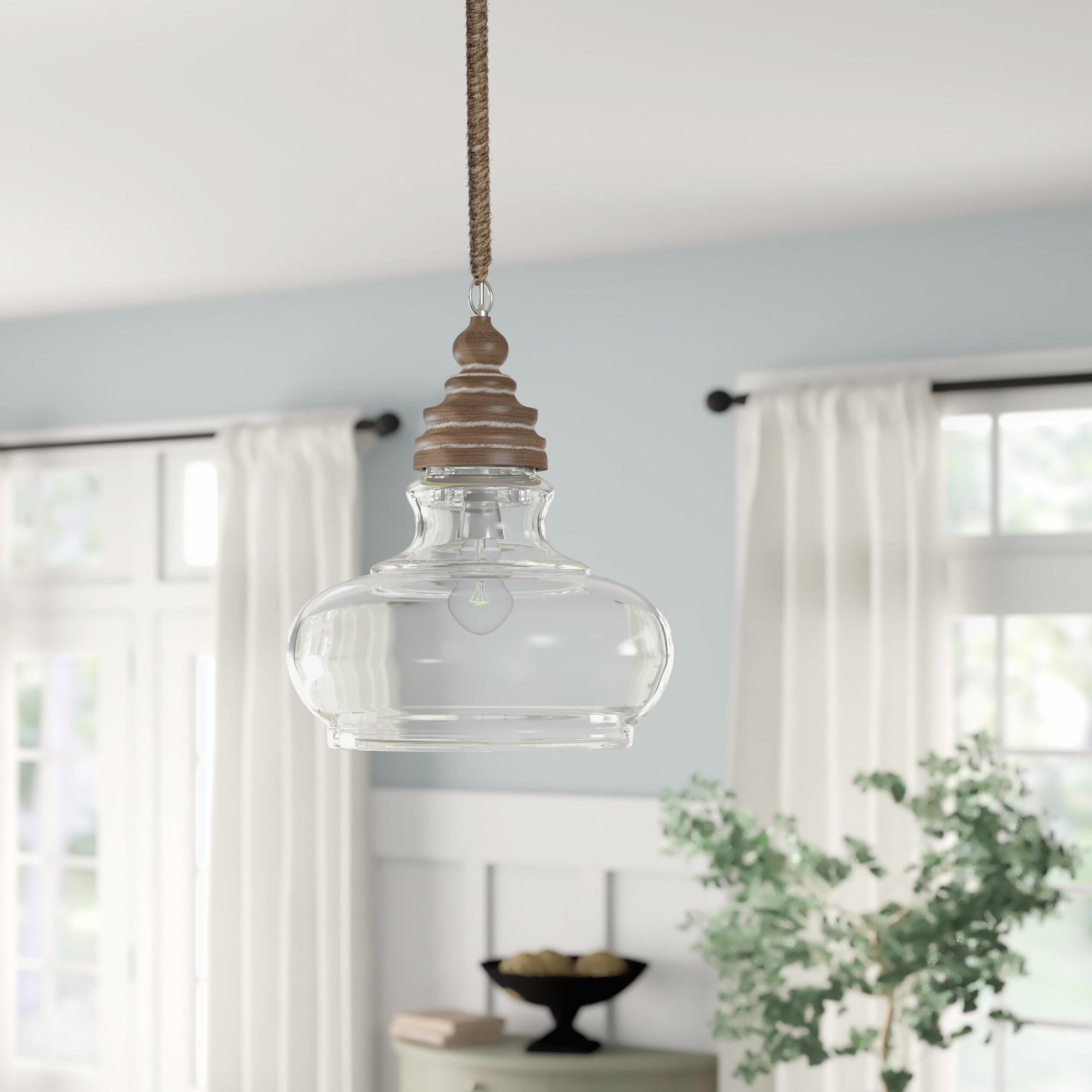 Akakios 1 Light Single Bell Pendants Inside Preferred Maelle 1 Light Bell Pendant (View 12 of 25)