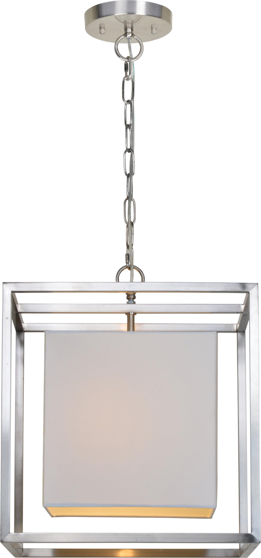 Akash Industrial Vintage 1 Light Geometric Pendants Intended For Favorite Bunnell 1 Light Single Square Pendant (View 3 of 25)