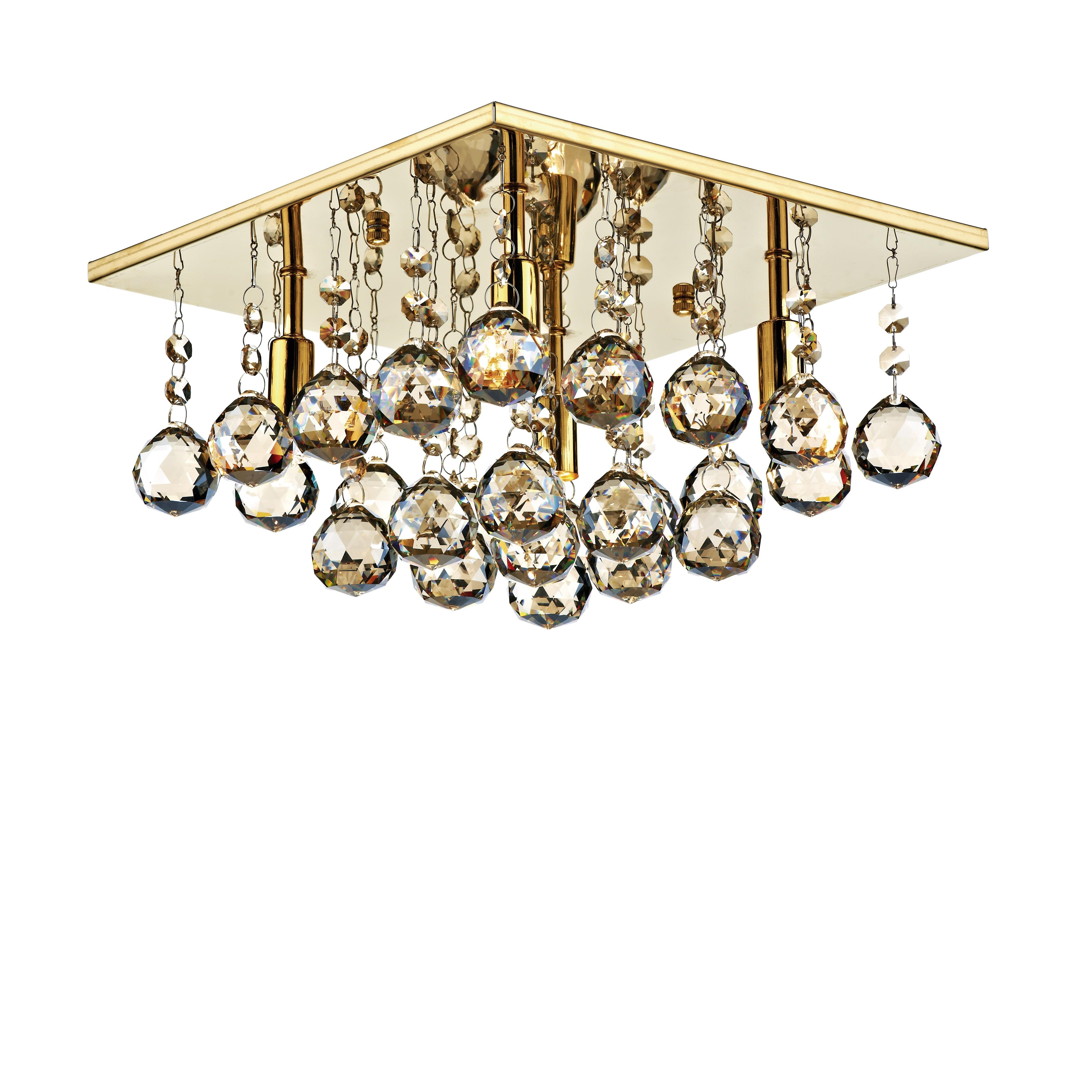 Aldgate 4 Light Crystal Chandeliers With 2019 Midwest Lighting Ltd :: Manufacturers :: Dar Lighting (View 6 of 25)
