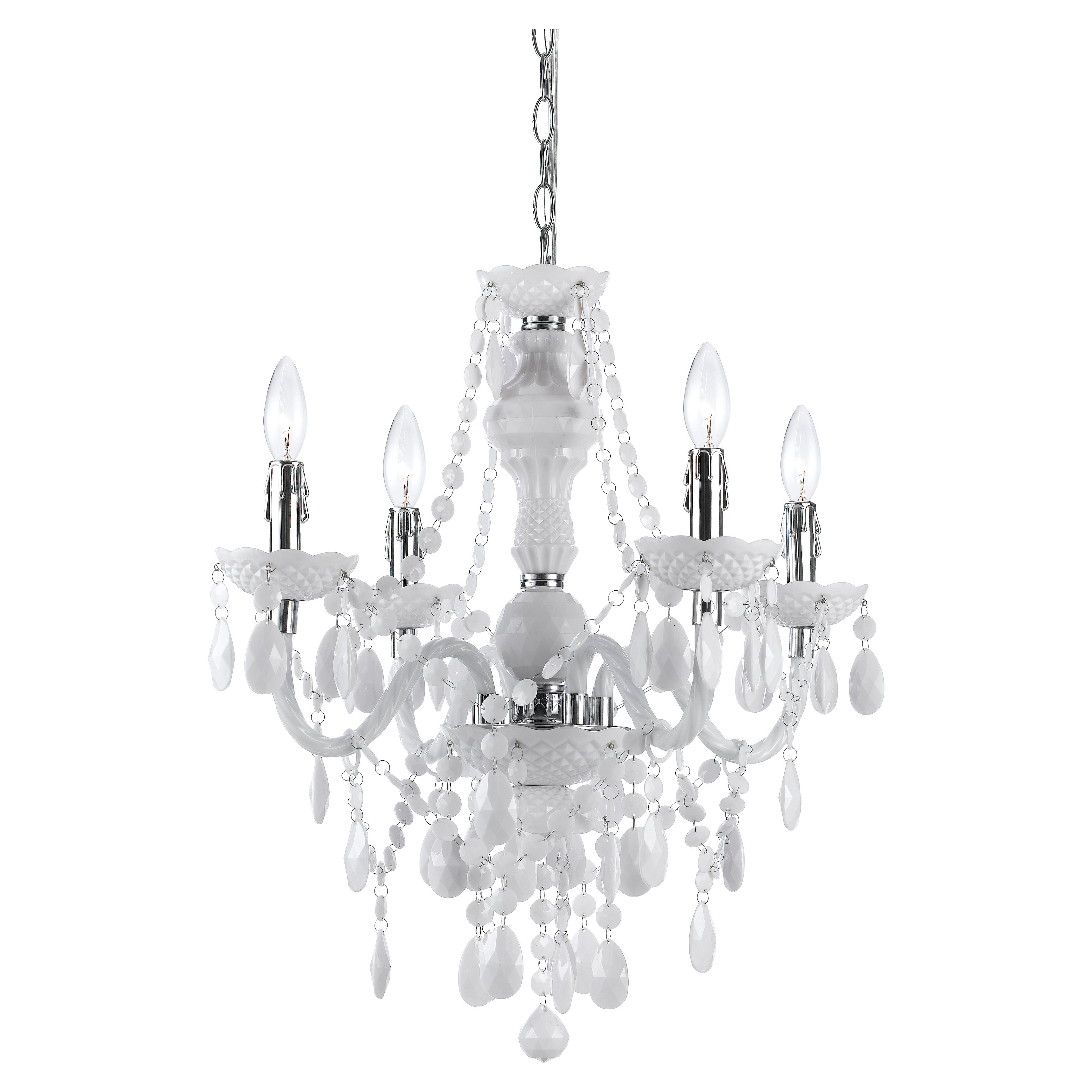 Aldora 4 Light Candle Style Chandeliers In Most Current Geoffroy 4 Light Candle Style Chandelier (View 5 of 25)