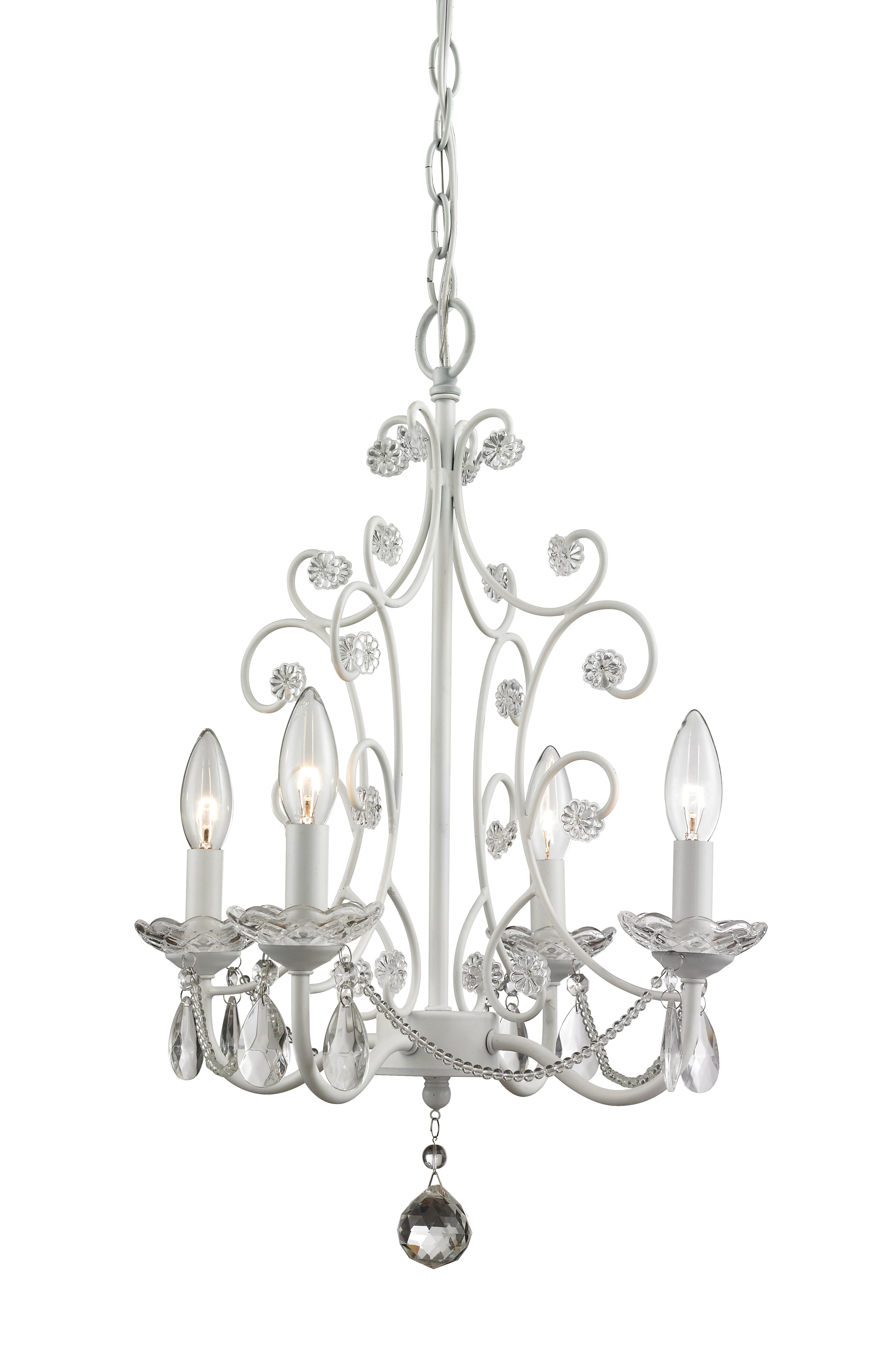 Aldora 4 Light Candle Style Chandeliers Pertaining To Most Recent Aquilla 4 Light Candle Style Chandelier (View 9 of 25)
