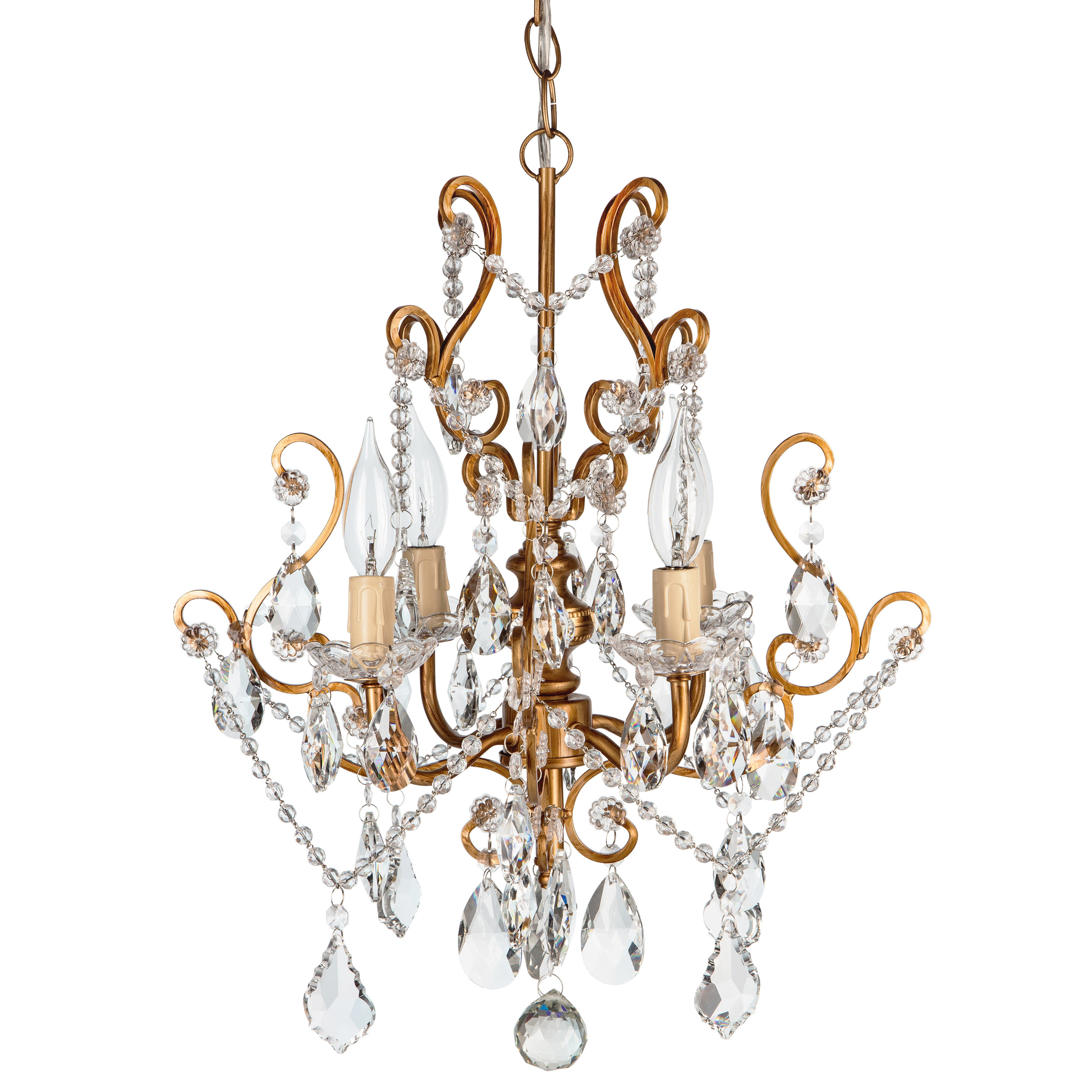 Aldora 4 Light Candle Style Chandeliers Within Well Known Flemington 4 Light Candle Style Chandelier (View 4 of 25)