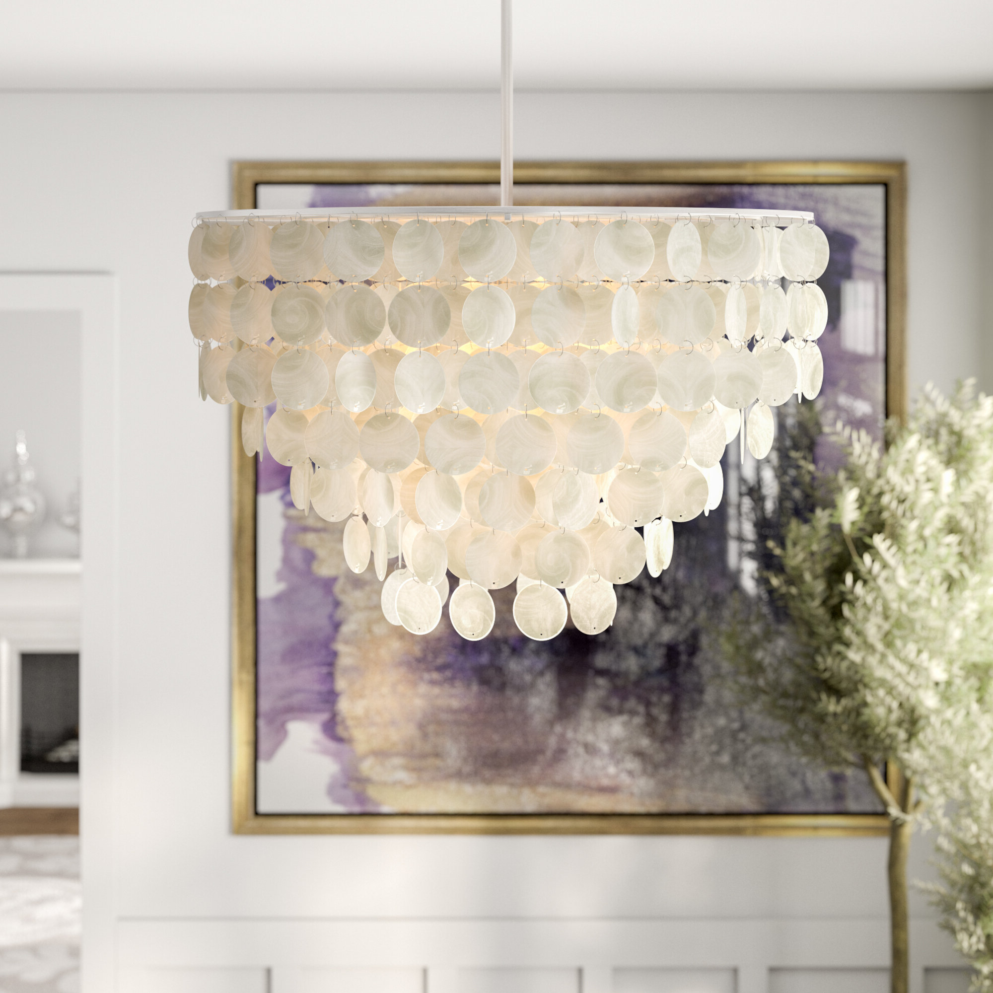 Allmodern Pertaining To Well Known Ladonna 5 Light Novelty Chandeliers (View 24 of 25)