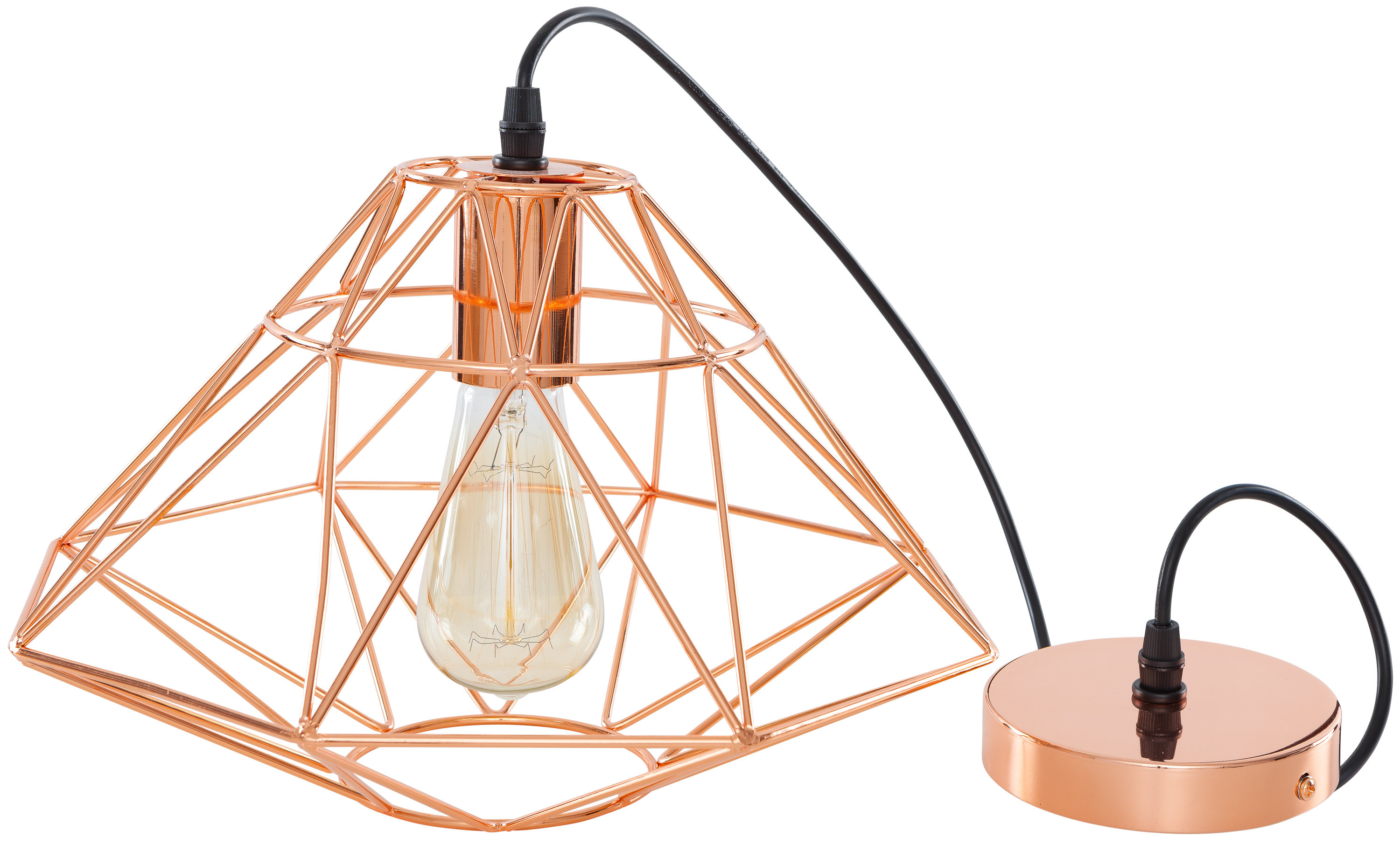 Allmodern Regarding Melora 1 Light Single Geometric Pendants (View 4 of 25)