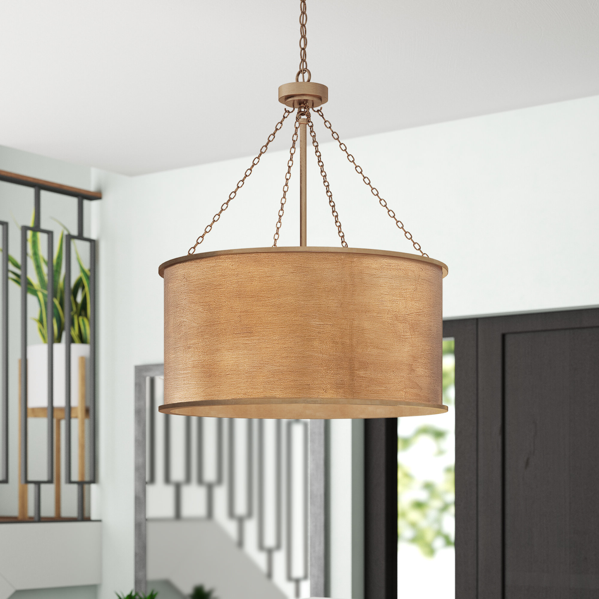 Alverez 4 Light Drum Chandeliers Throughout 2019 Cranston 4 Light Drum Chandelier (View 4 of 25)