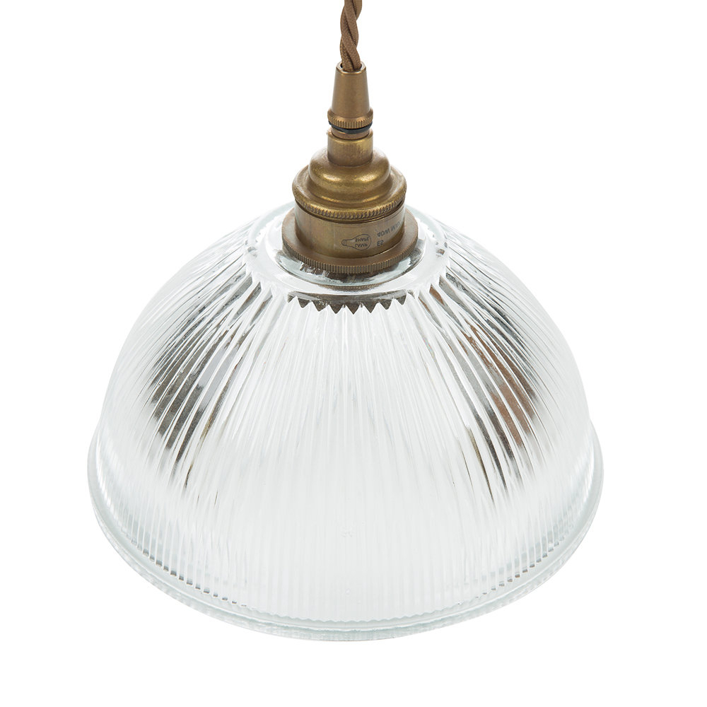 Amara 2 Light Dome Pendants In Most Recently Released Dome Prismatic Pendant Light – Small (View 3 of 25)