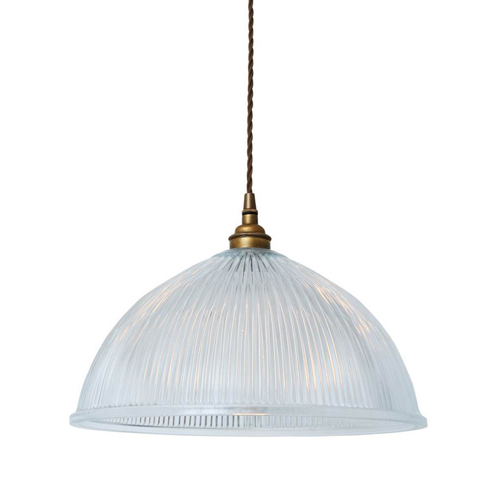 Amara 2 Light Dome Pendants Inside Most Current Dome Prismatic Pendant Light – Large (View 5 of 25)