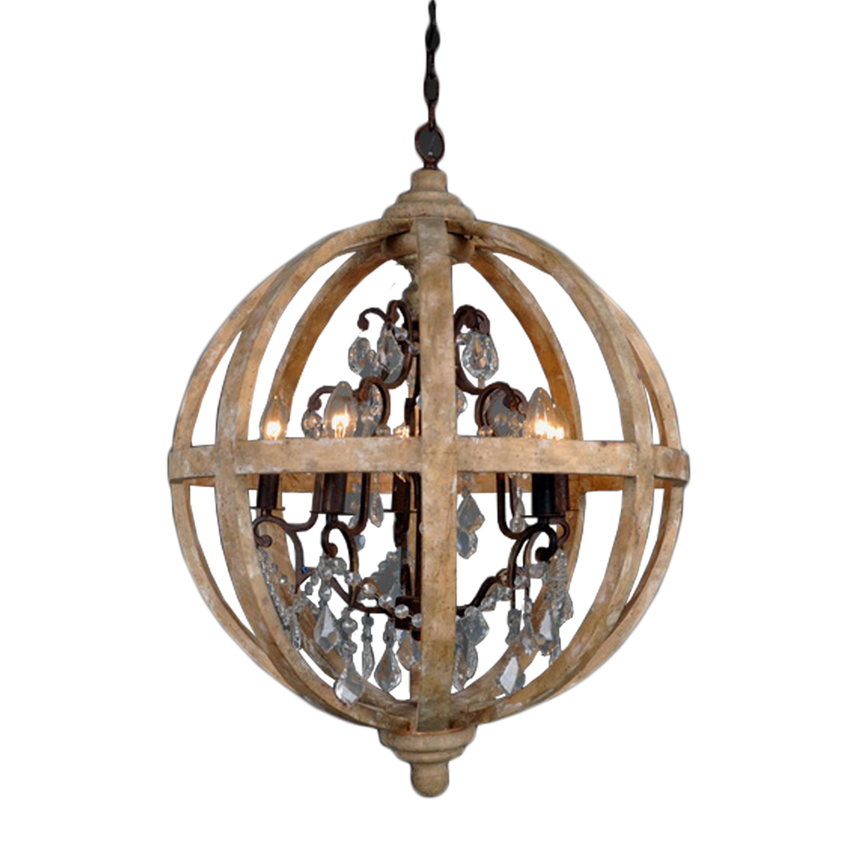 Andreana 5 Light Globe Chandelier Within Recent Filipe Globe Chandeliers (View 6 of 25)