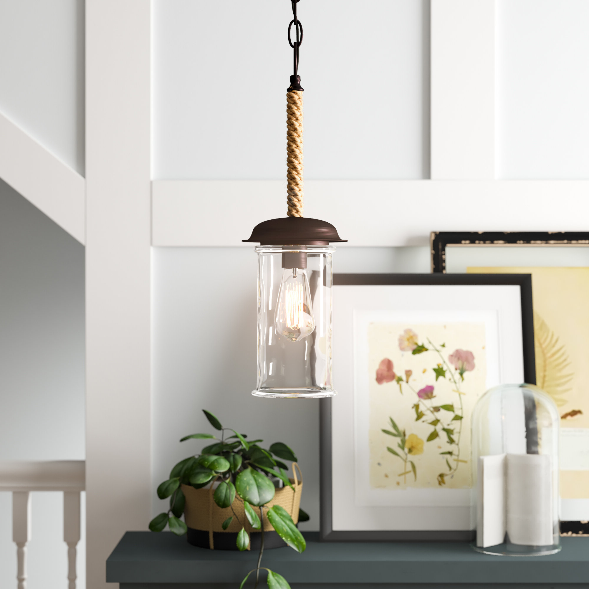Angelina 1 Light Single Cylinder Pendants Regarding 2019 Sorrell 1 Light Single Cylinder Pendant (View 24 of 25)