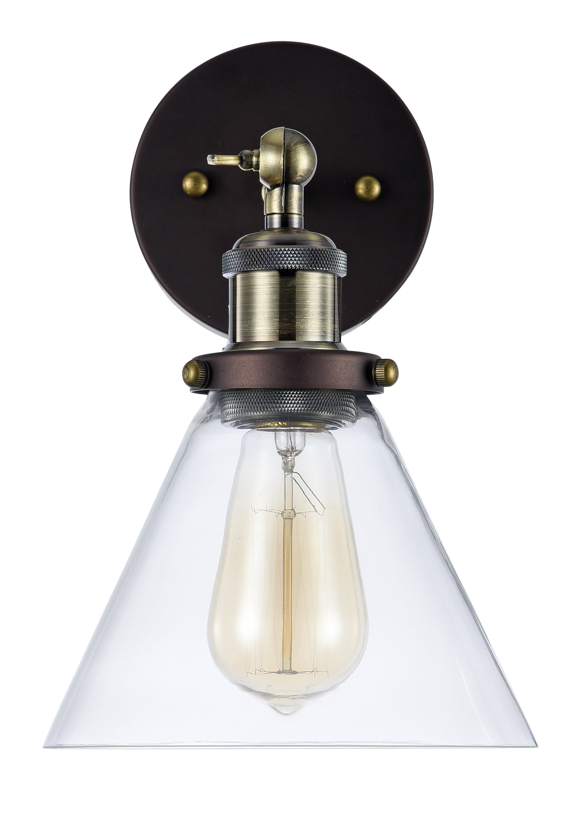 Angelina 1 Light Single Cylinder Pendants With 2019 Bouvet 1 Light Armed Sconce (View 8 of 25)