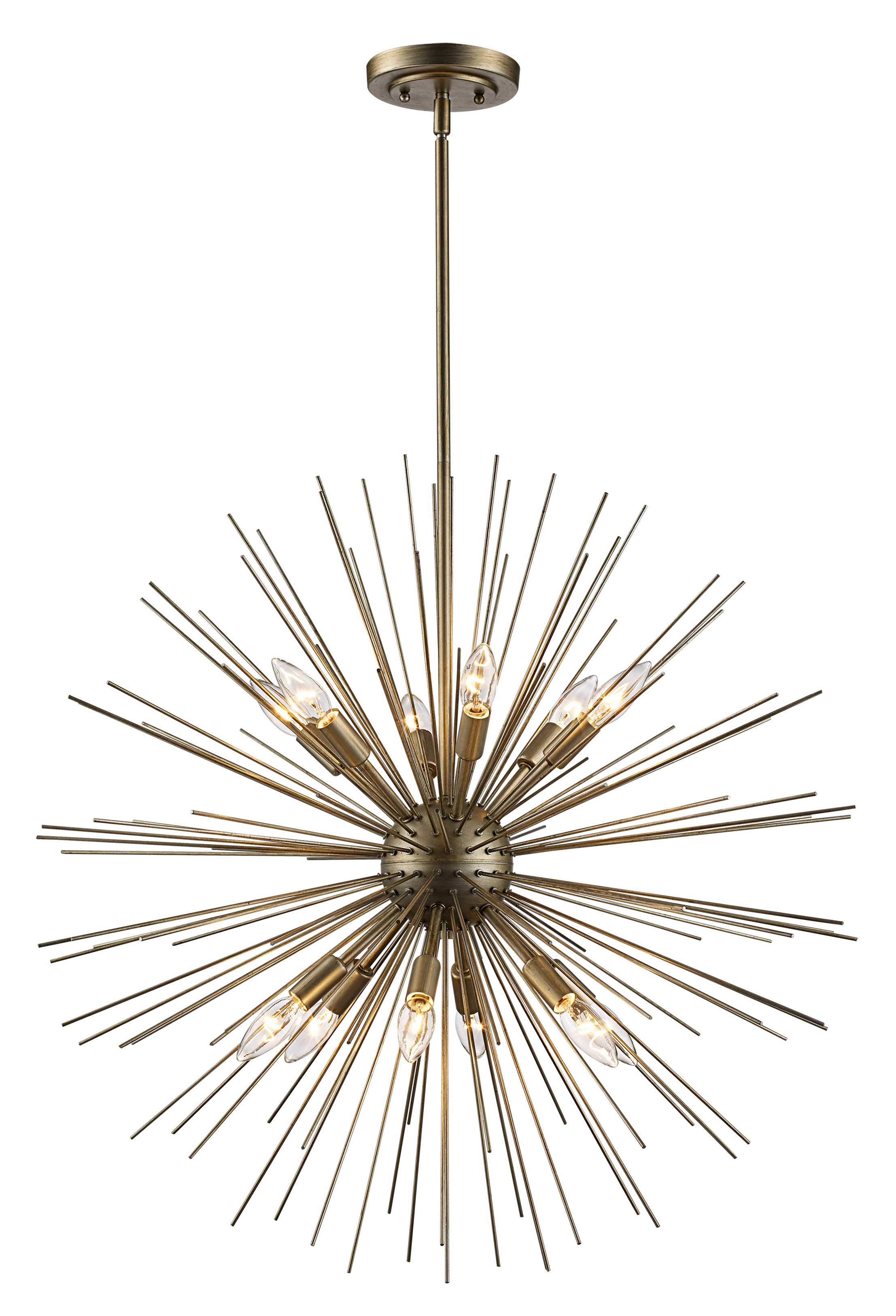 Antonie 12 Light Sputnik Chandelier Pertaining To Most Up To Date Nelly 12 Light Sputnik Chandeliers (View 4 of 25)