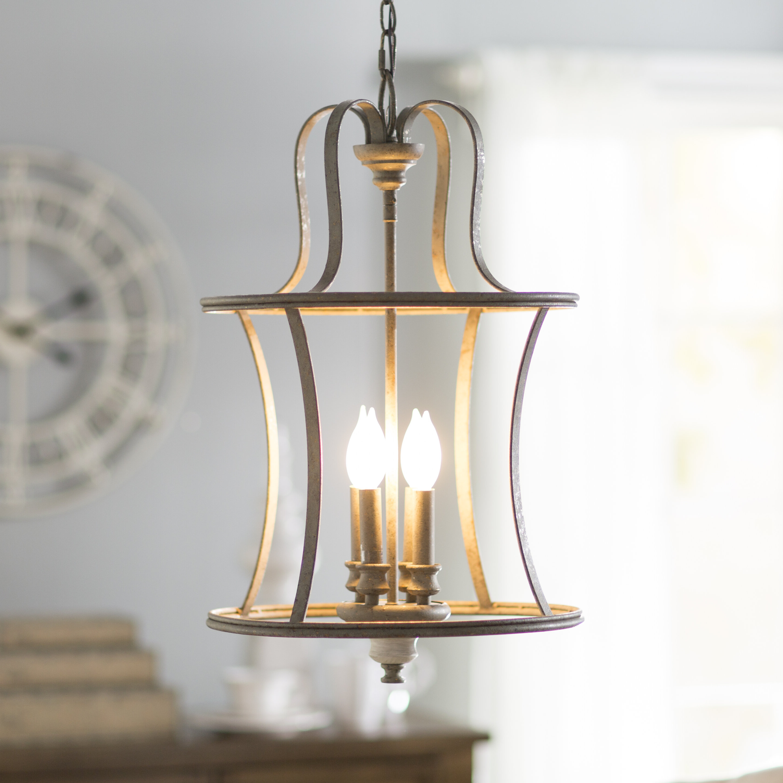 Featured Photo of Armande 3 Light Lantern Geometric Pendants