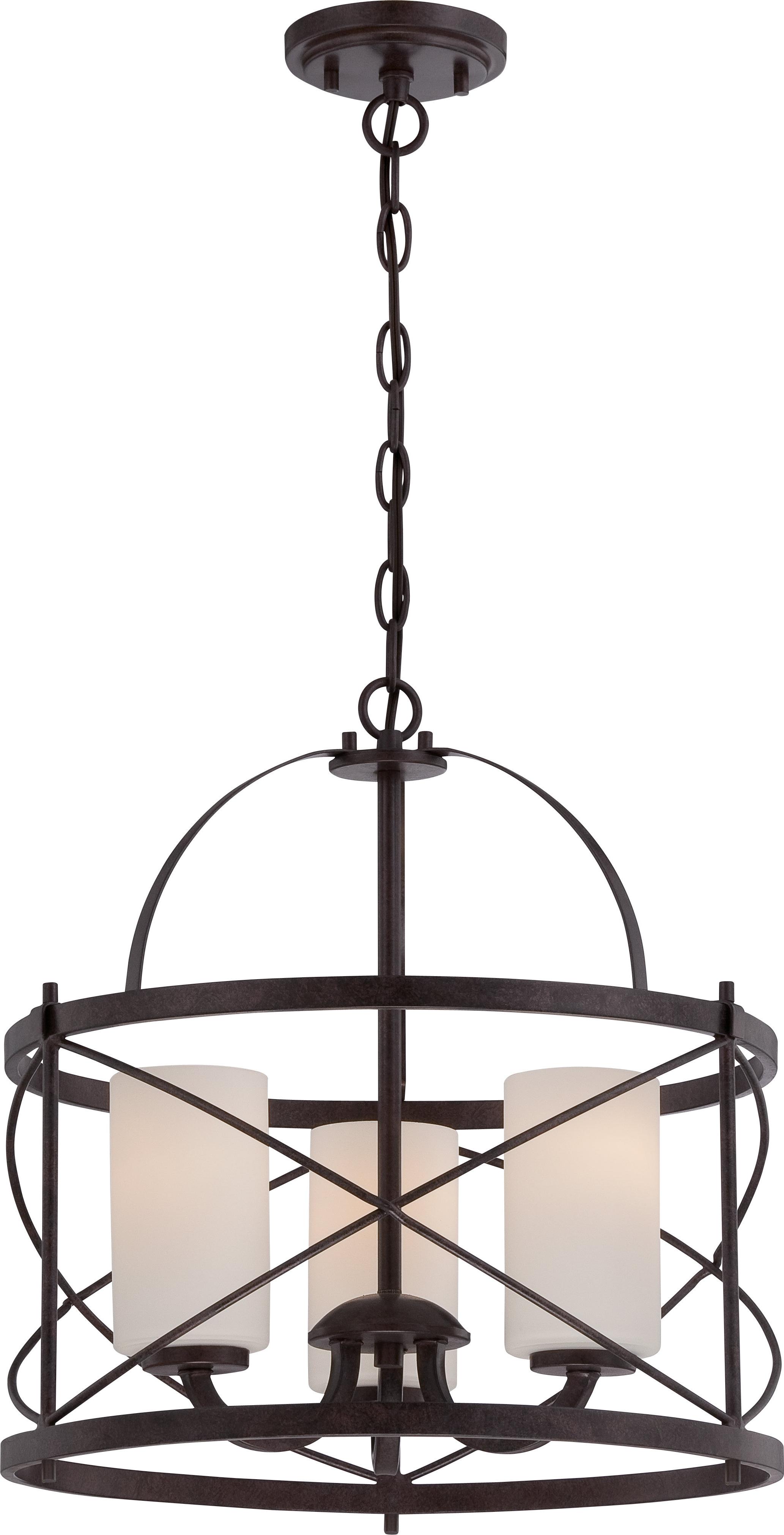 Armande 4 Light Lantern Drum Pendants Regarding Well Liked Farrier 3 Light Lantern Drum Pendant (View 5 of 25)