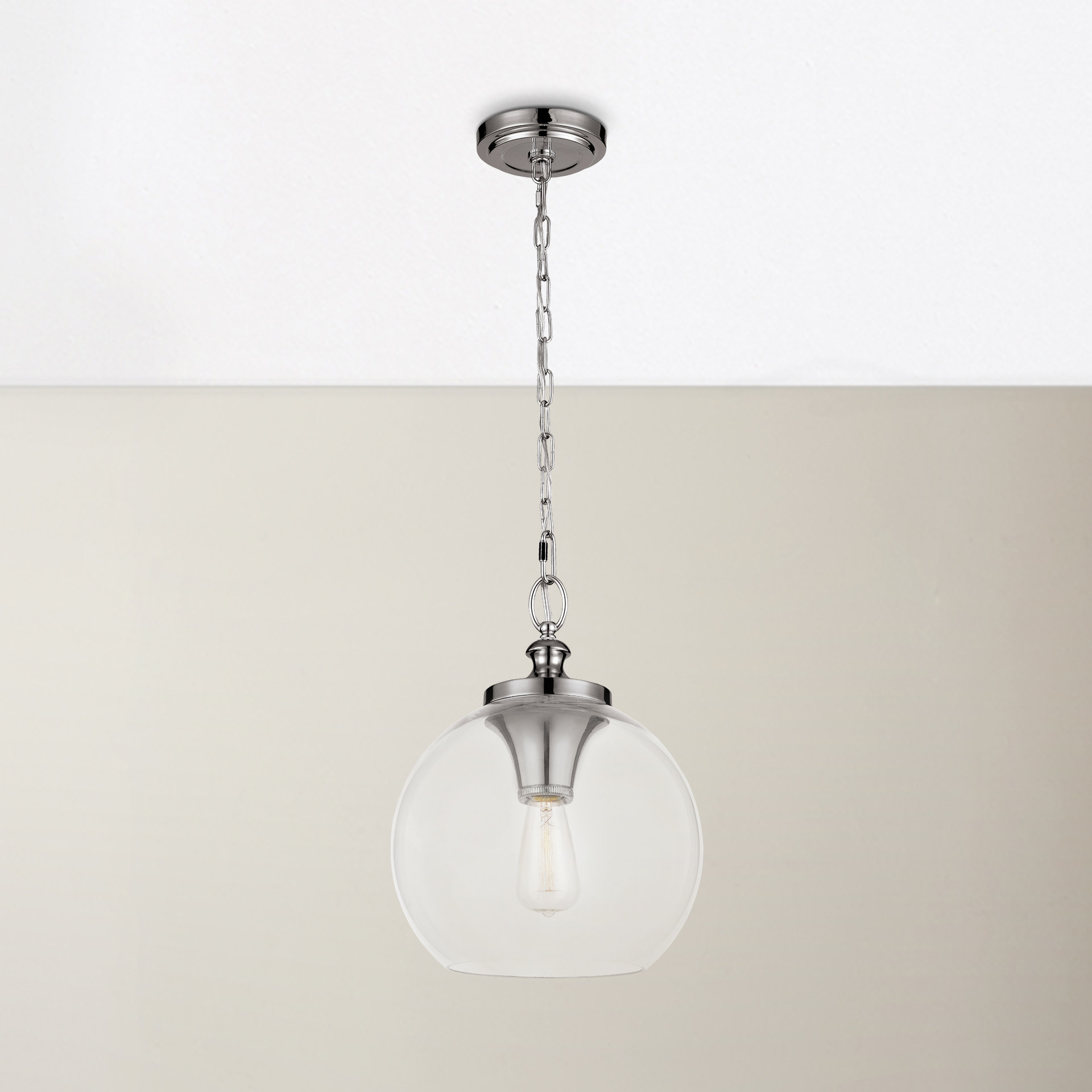 Asellus 1 Light Single Globe Pendant For Most Recently Released Nolan 1 Light Single Cylinder Pendants (View 2 of 25)