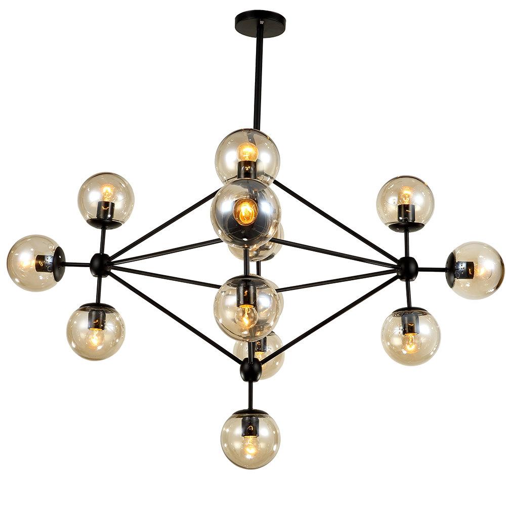 Asher 12 Light Sputnik Chandeliers Within 2019 Dortch 15 Light Sputnik Chandelier (View 15 of 25)