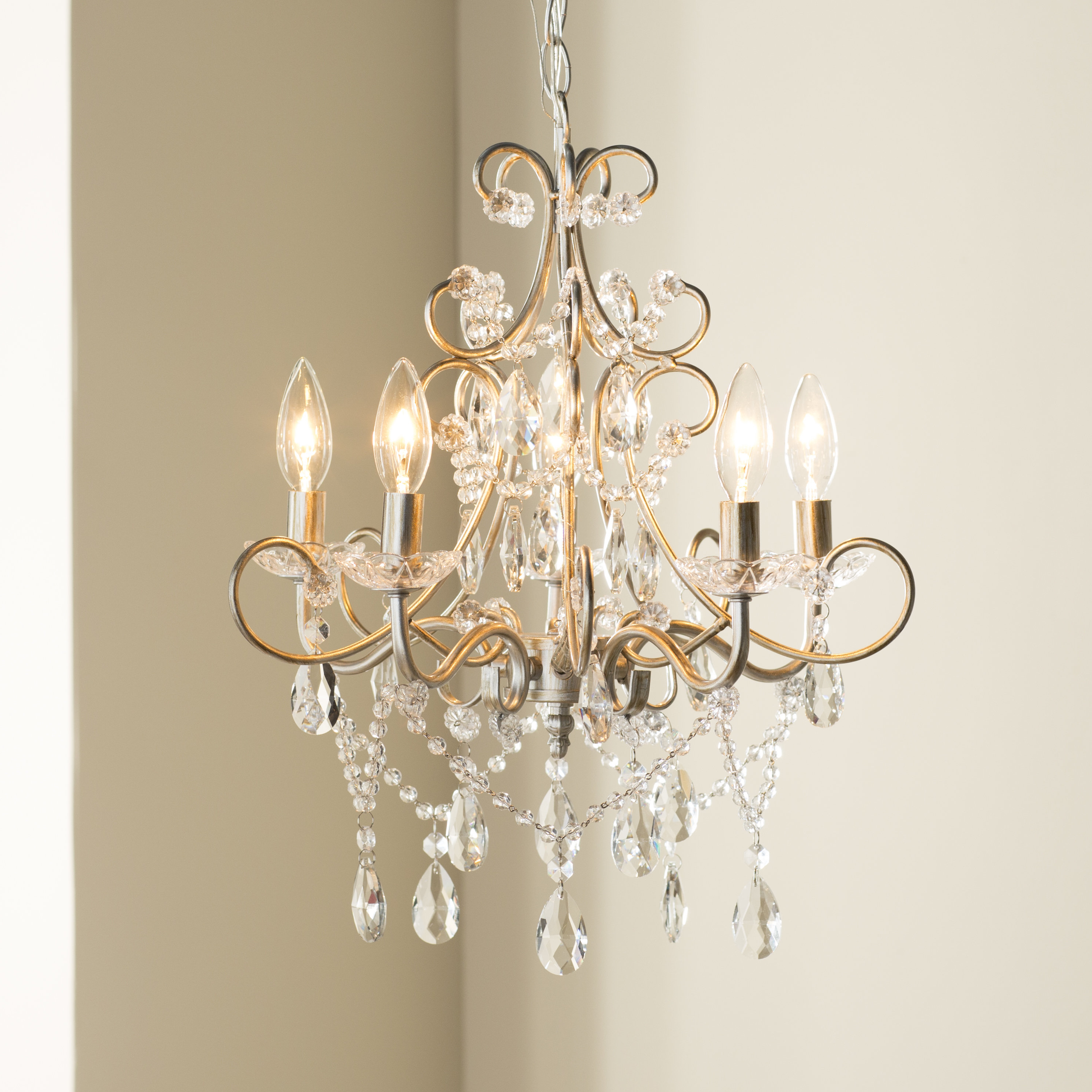 Astoria Grand Blanchette 5 Light Candle Style Chandelier For Famous Hesse 5 Light Candle Style Chandeliers (View 5 of 25)