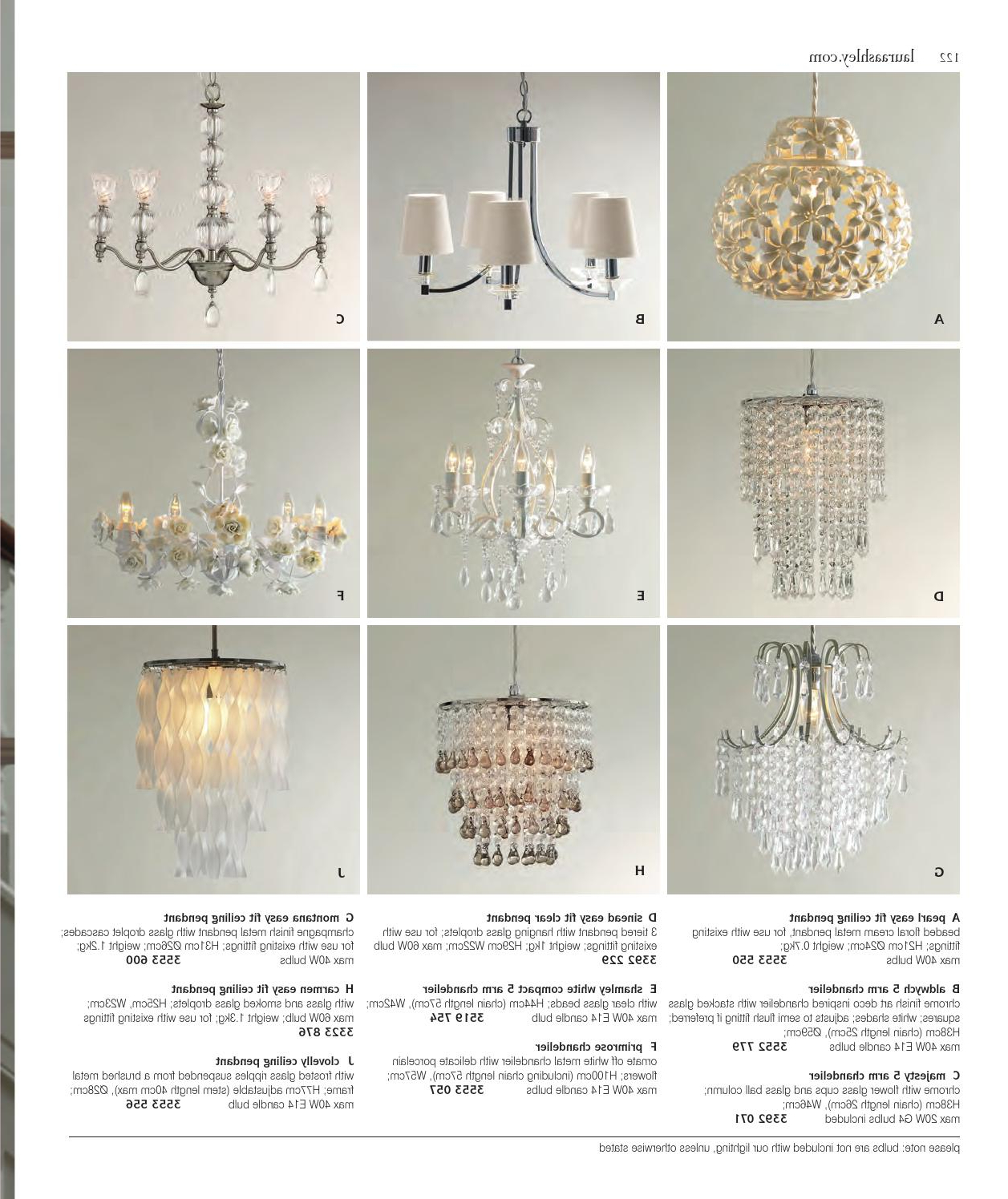 Aw13 Kataloglaura Ashley Sweden – Issuu Within Most Popular Sinead 4 Light Chandeliers (View 15 of 25)