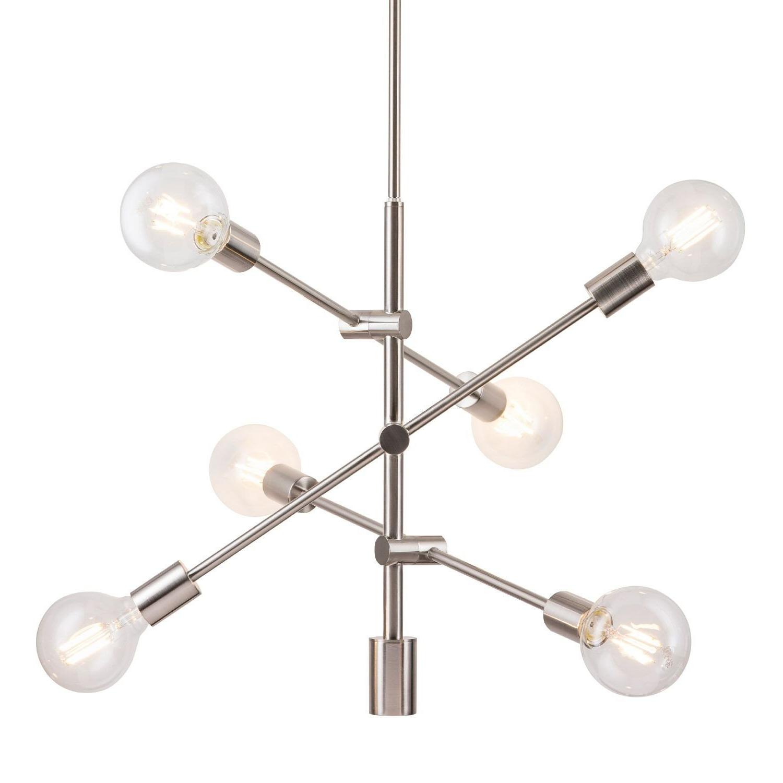 Bacchus 12-Light Sputnik Chandeliers pertaining to Latest Eladia 6-Light Sputnik Chandelier