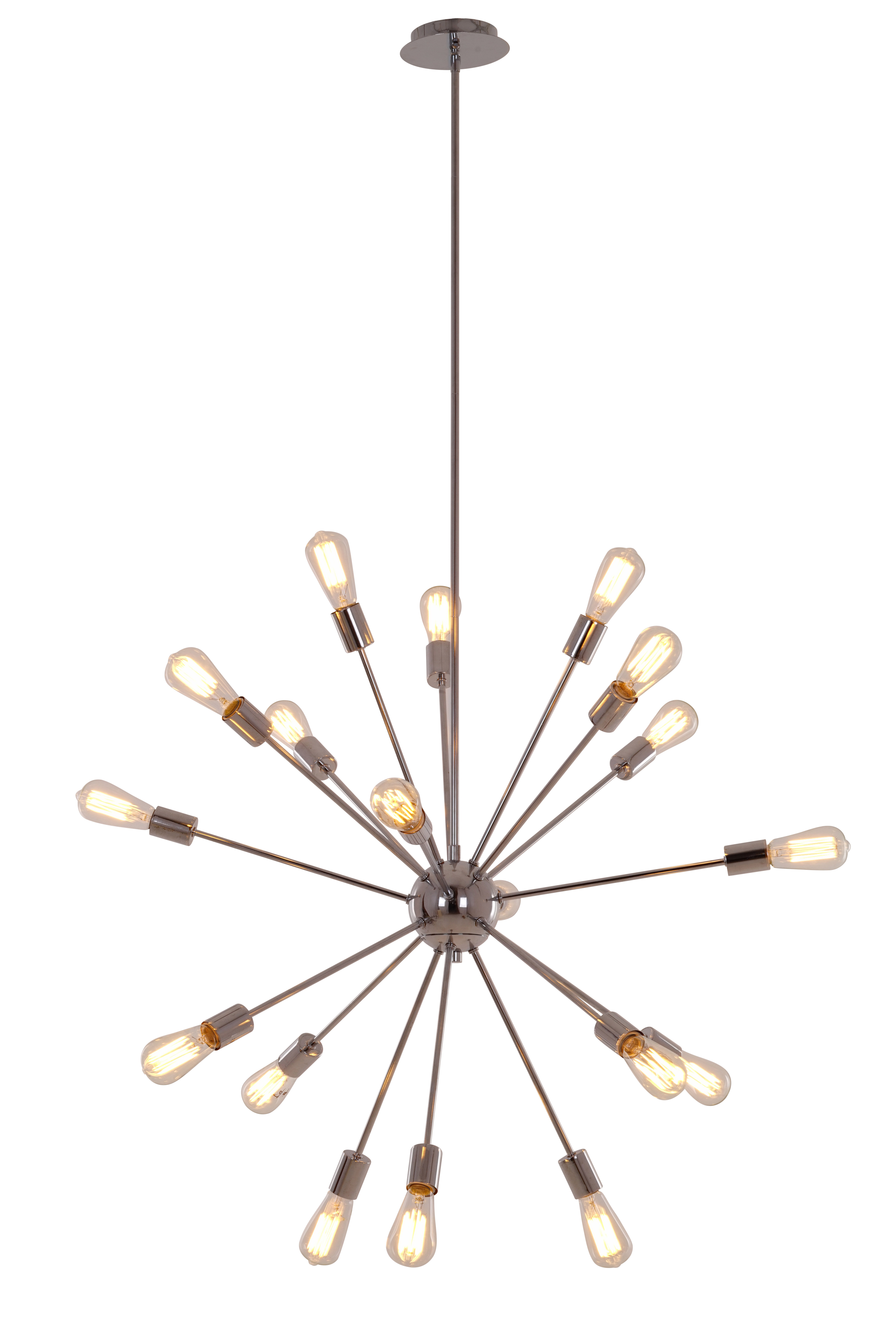 Bach 18 Light Chandelier With Regard To Famous Defreitas 18 Light Sputnik Chandeliers (View 1 of 25)