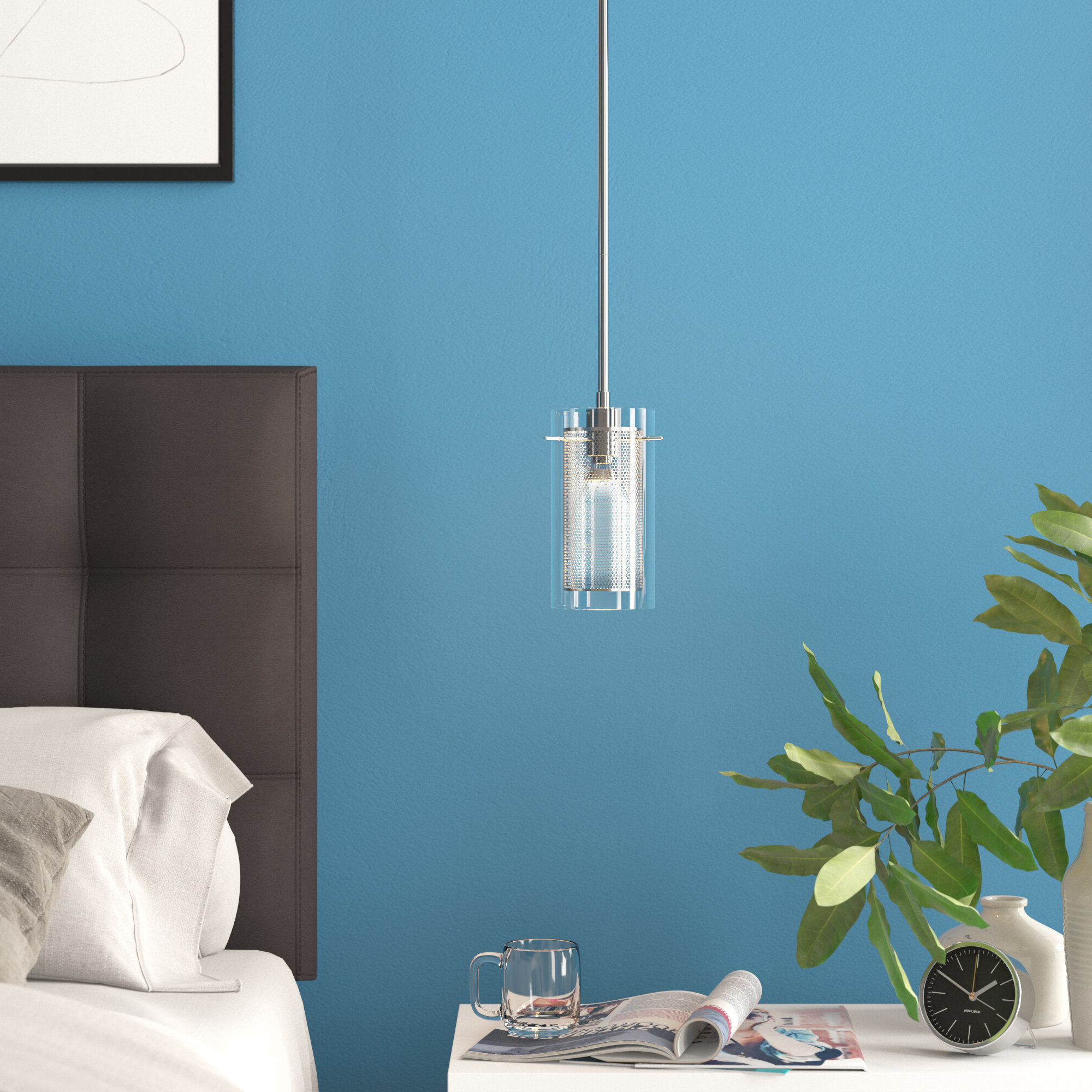 Bakersfield 1 Light Cylinder Pendant Throughout 2020 Ammerman 1 Light Cone Pendants (View 9 of 25)