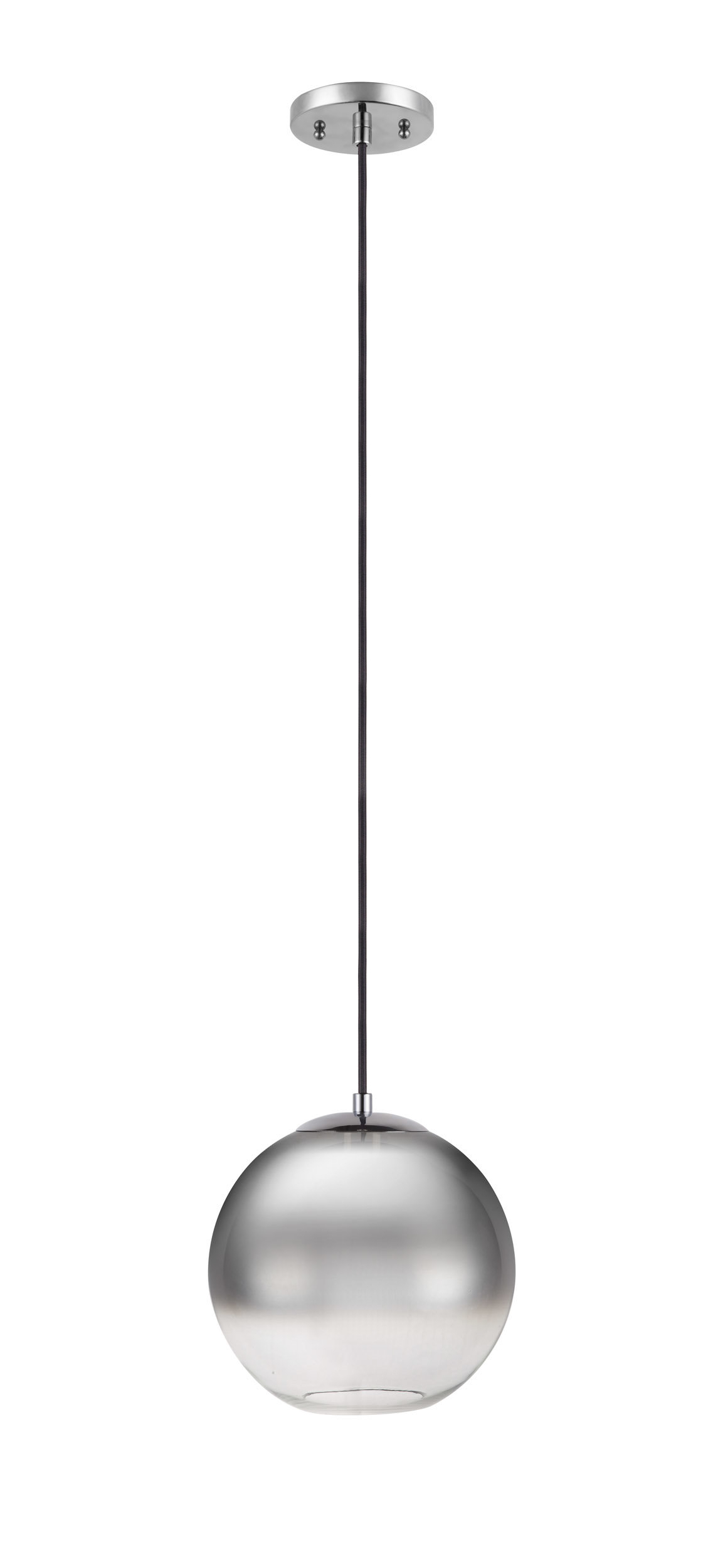 Bautista 1-Light Single Globe Pendants throughout 2020 1-Light Globe Pendant