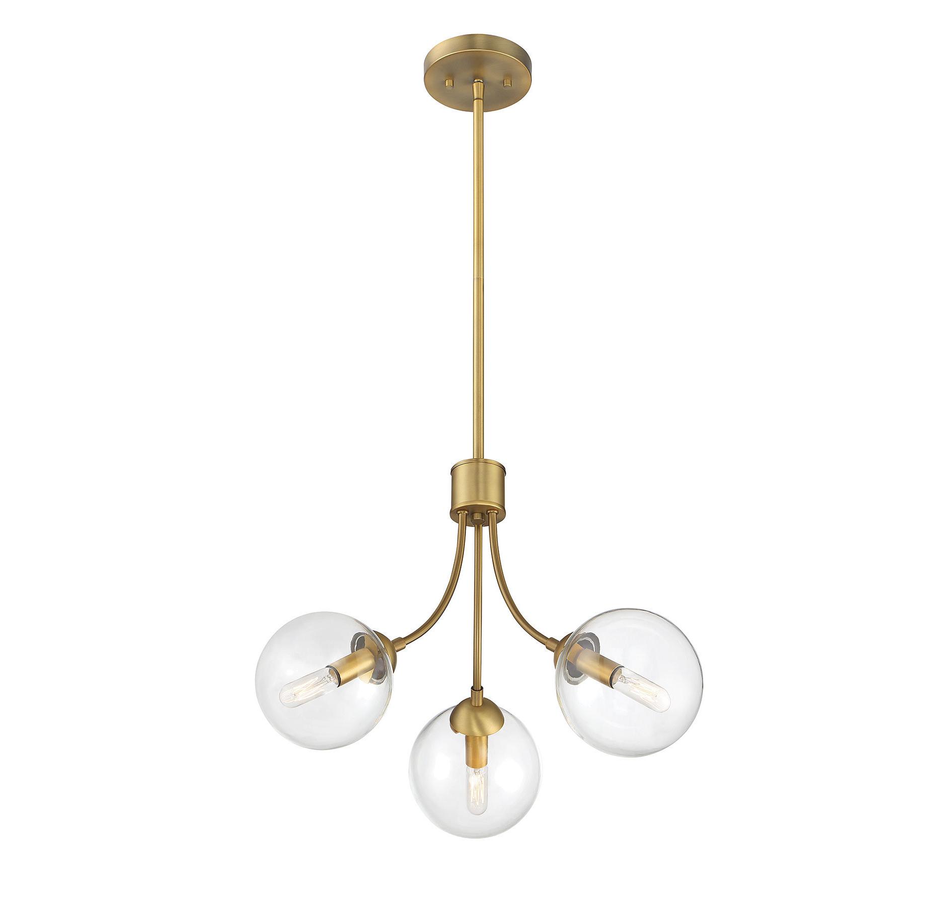 Bautista 5-Light Sputnik Chandeliers regarding Most Popular 3-Light Sputnik Chandelier