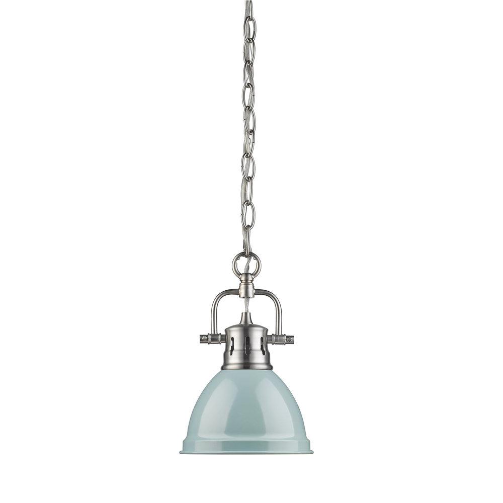 Beachcrest Home Bodalla 1 Light Single Bell Pendant For Famous Bodalla 1 Light Single Bell Pendants (View 24 of 25)