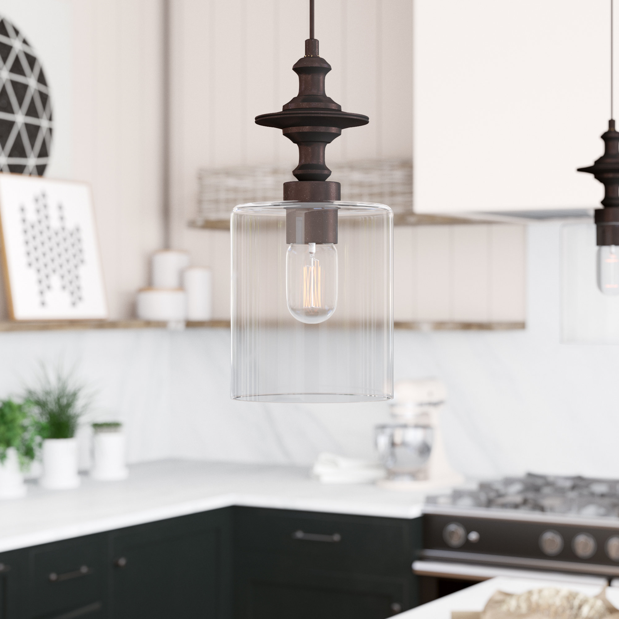 Best and Newest Ammerman 1-Light Cone Pendants in Moyer 1-Light Single Cylinder Pendant