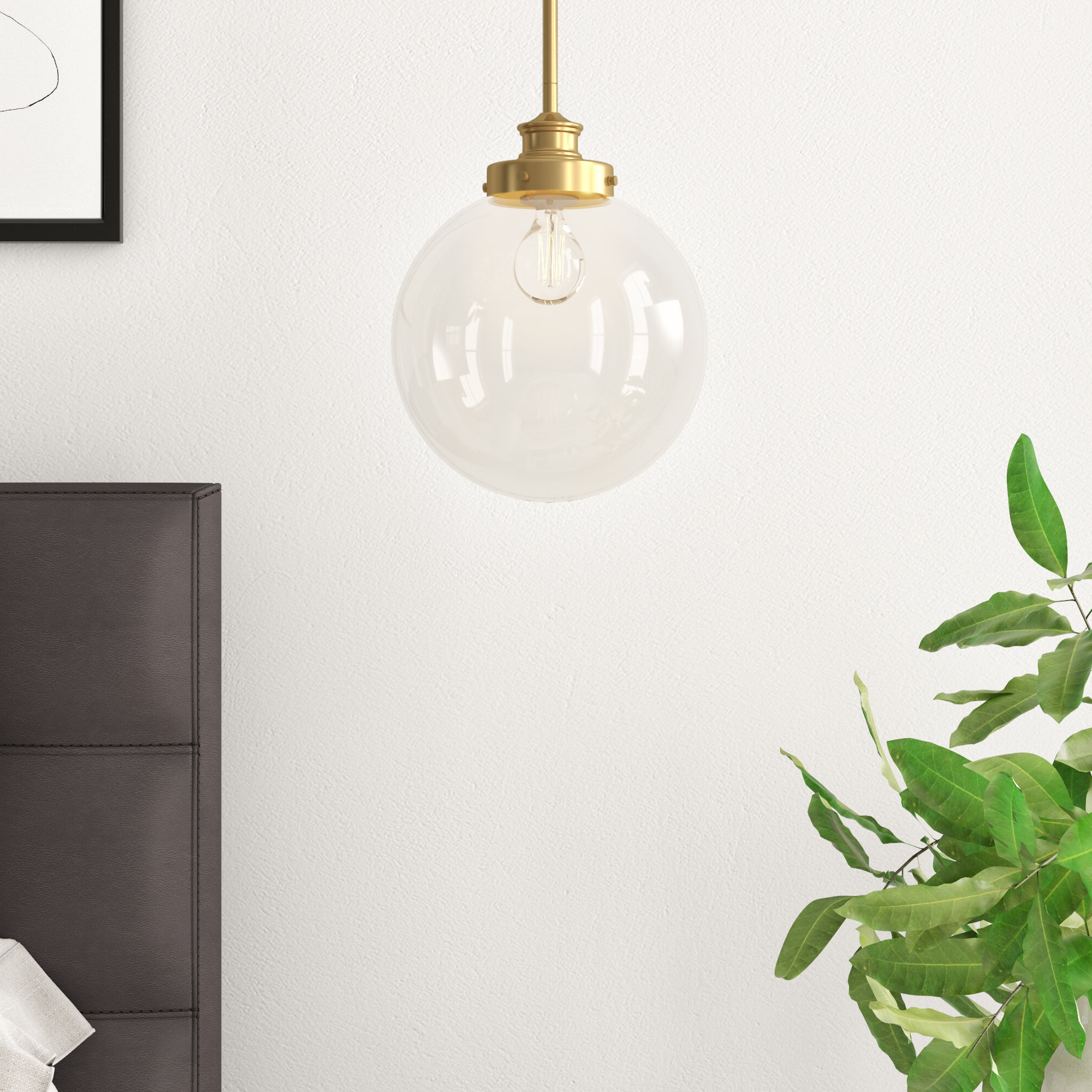 Best And Newest Bautista 1 Light Single Globe Pendants Intended For Cayden 1 Light Single Globe Pendant (View 6 of 25)