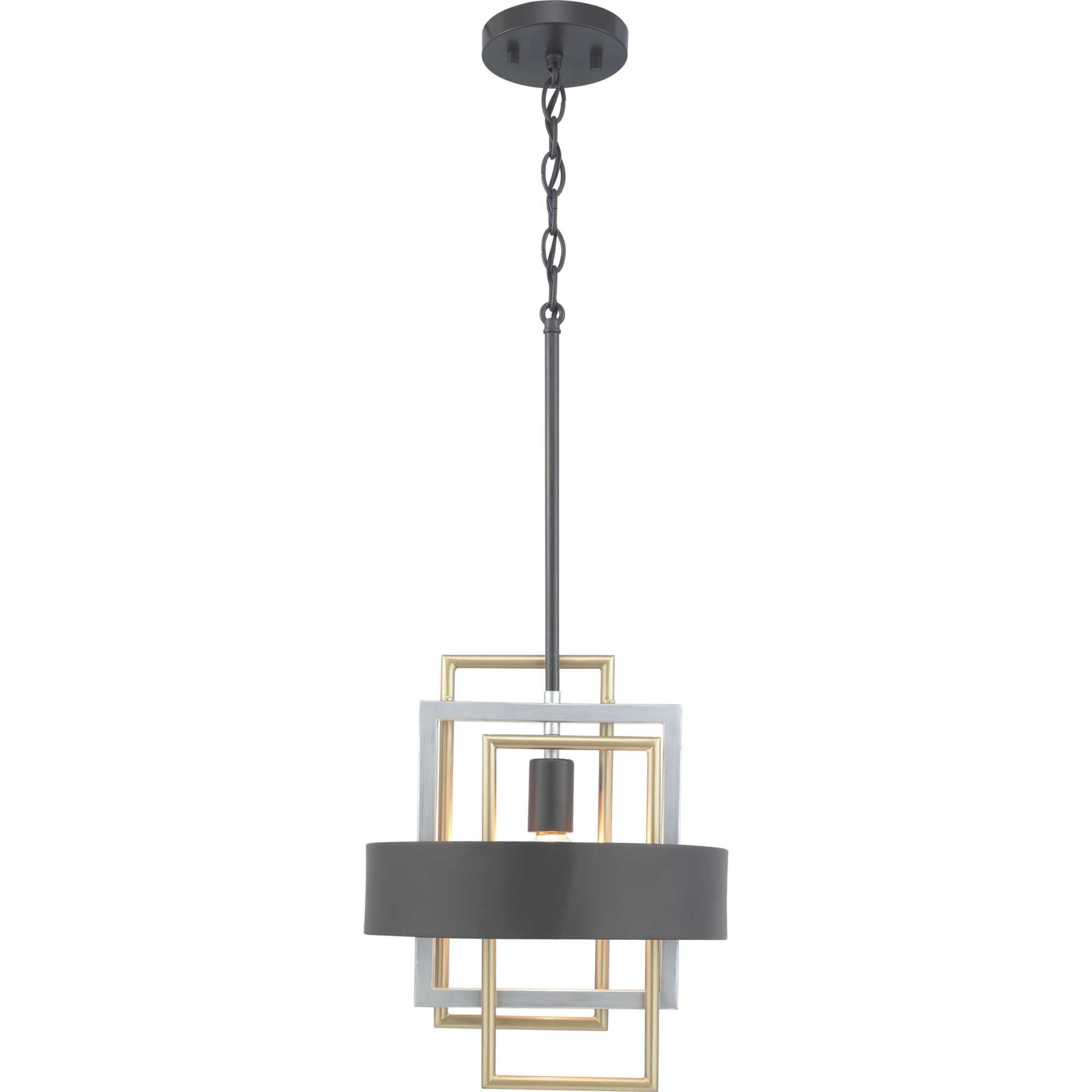 Best And Newest Callington 1 Light Led Single Geometric Pendants Pertaining To Coralie 1 Light Geometric Pendant (View 3 of 25)