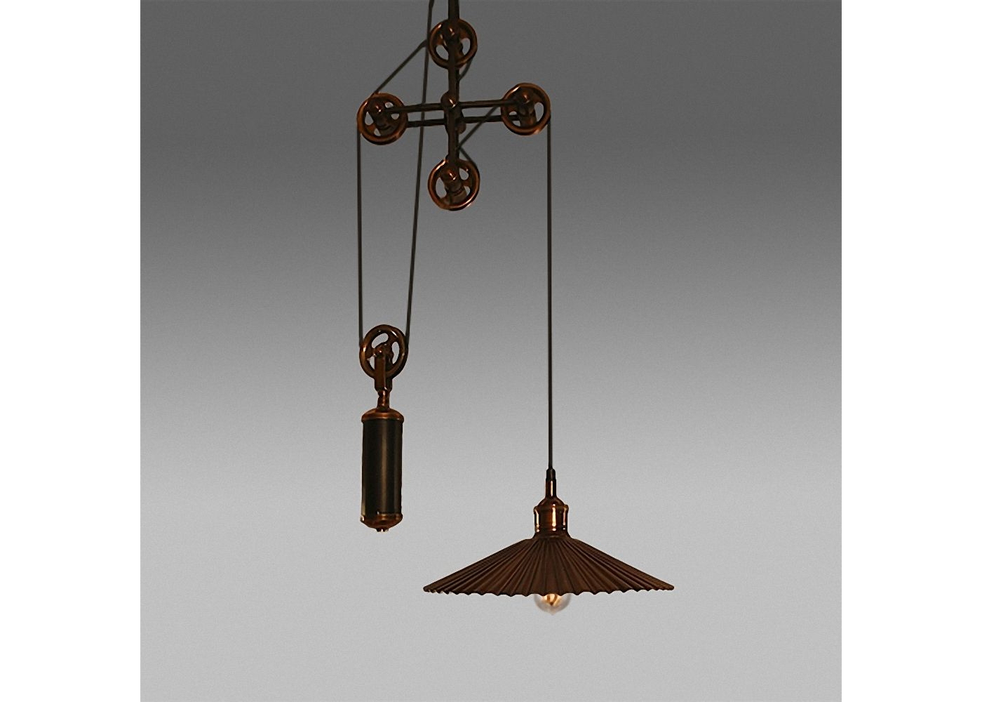 """Best And Newest Светильник """"лойд"""" (Светильник """"лойд"""") Купить В Интернет For Rossi Industrial Vintage 1 Light Geometric Pendants (View 3 of 25)"""