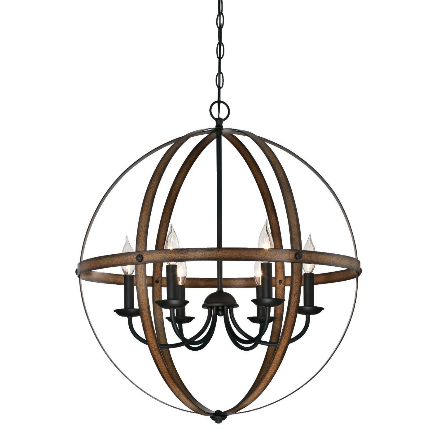 Best and Newest Donna 6-Light Globe Chandeliers with regard to Joon 6-Light Globe Chandelier