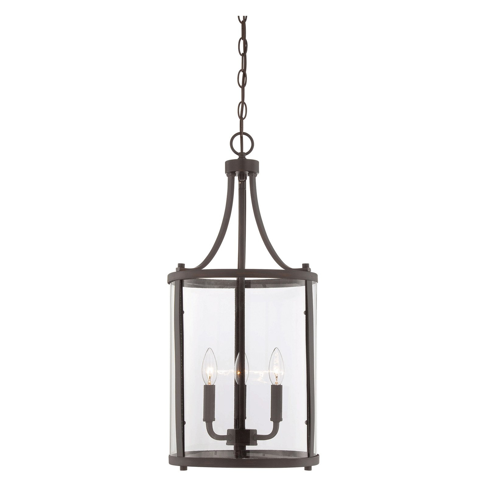 Best And Newest Gabriella 3 Light Lantern Chandeliers With Regard To Savoy House Penrose 7 1040 3 Pendant Light In  (View 3 of 25)