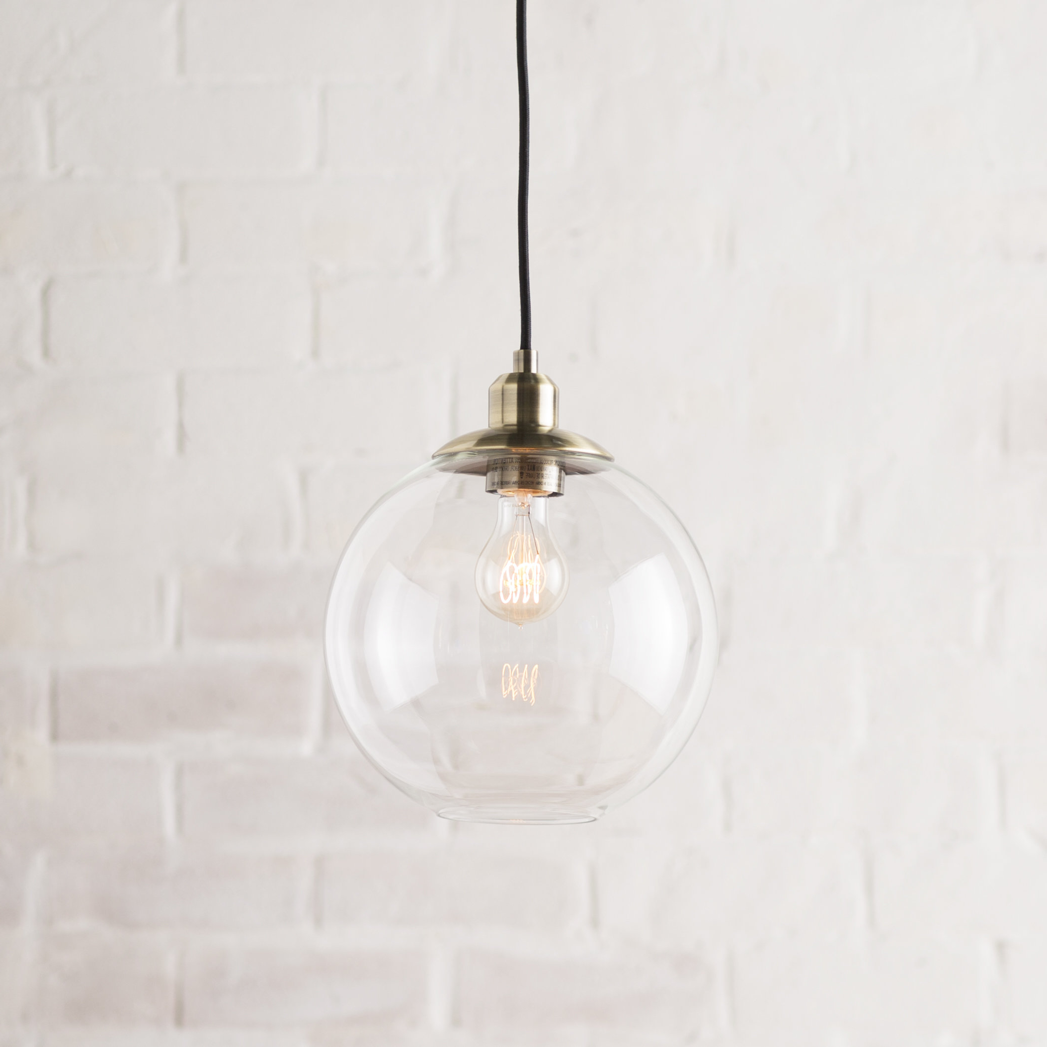 Best and Newest Gehry 1-Light Single Globe Pendant within Cayden 1-Light Single Globe Pendants