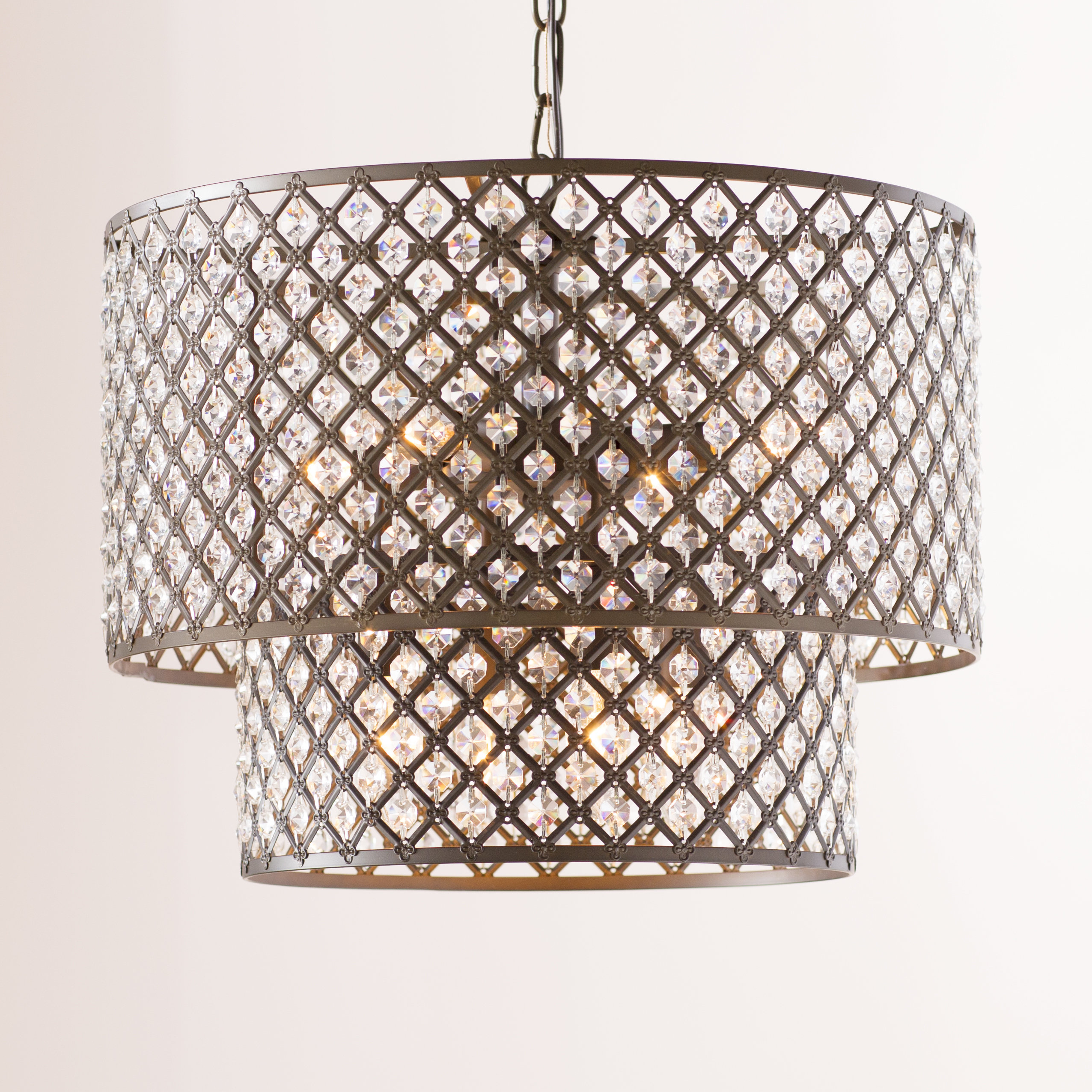 Best and Newest Maribel 8-Light Drum Chandelier intended for Gisselle 4-Light Drum Chandeliers